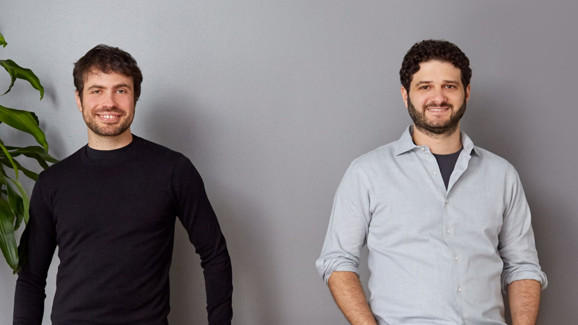 Asana co-founders Justin Rosenstein (left) and Dustin Moskovitz.