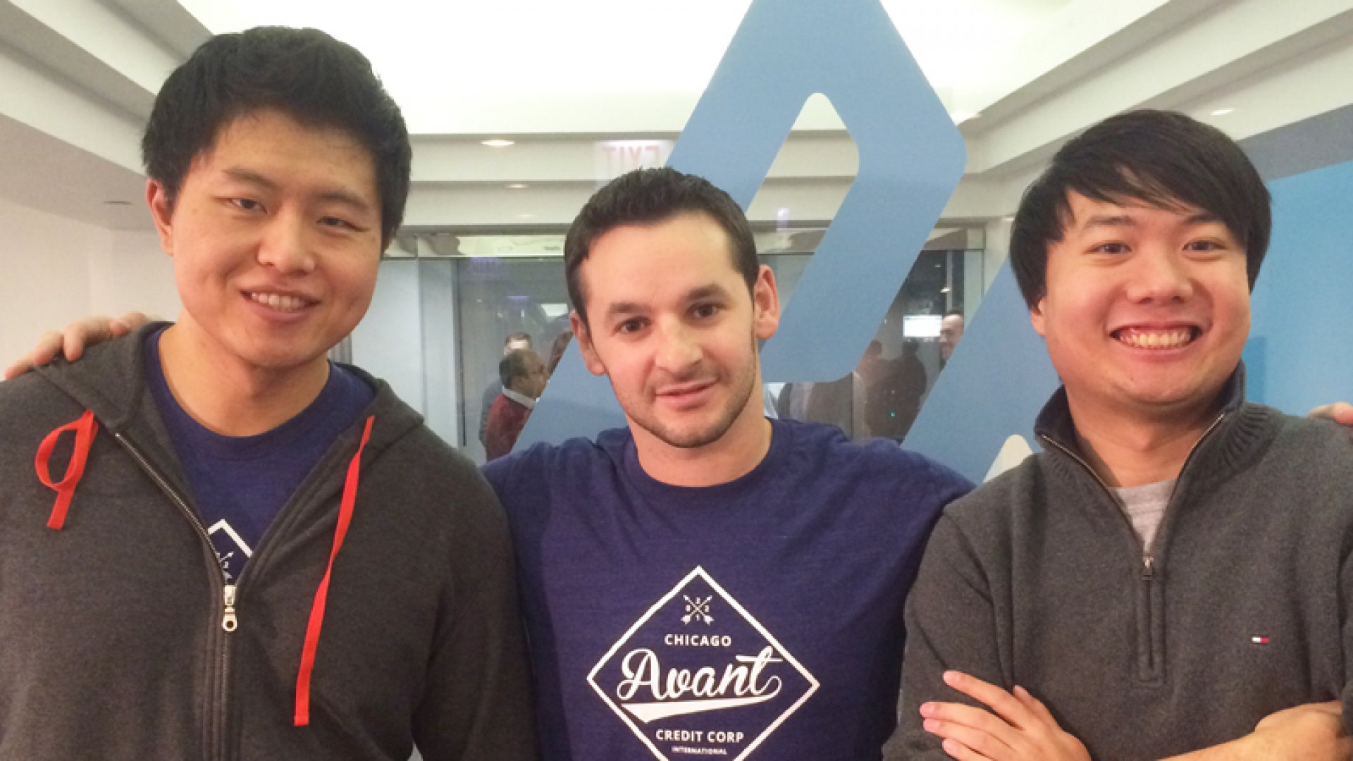 John Sun, Al Goldstein, and Paul Zhang are the co-founders of Avant.