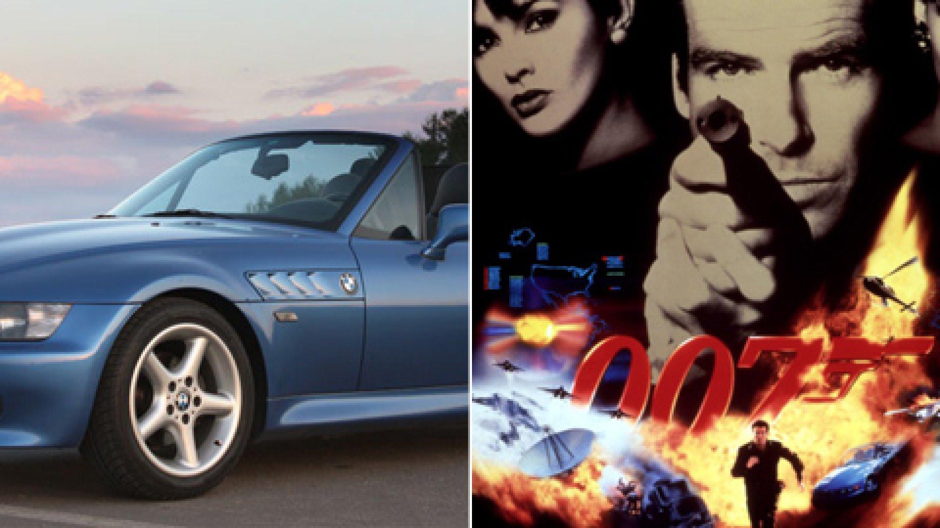 BMW Z3 and GoldenEye