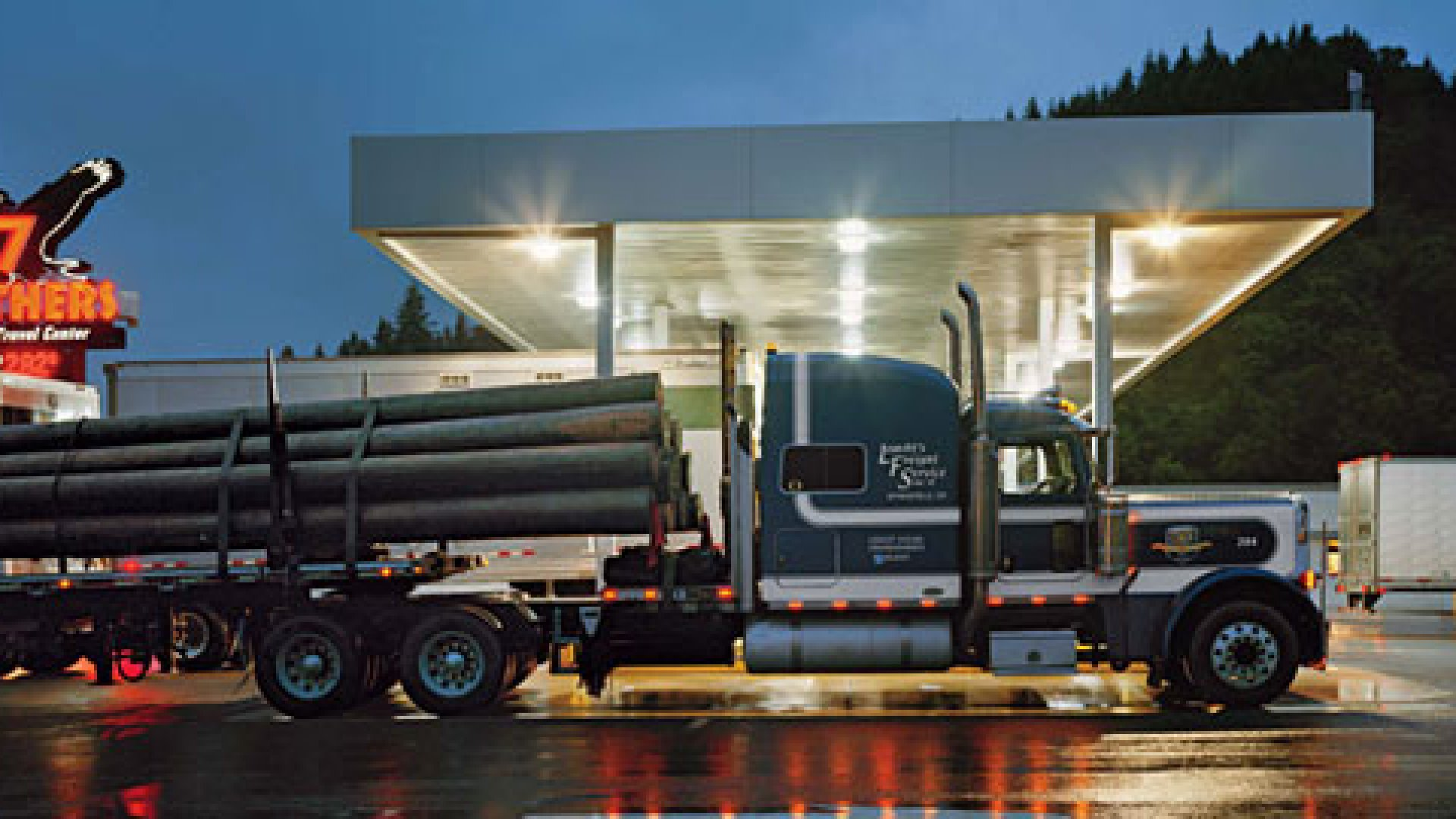 The Business of a Truck Stop