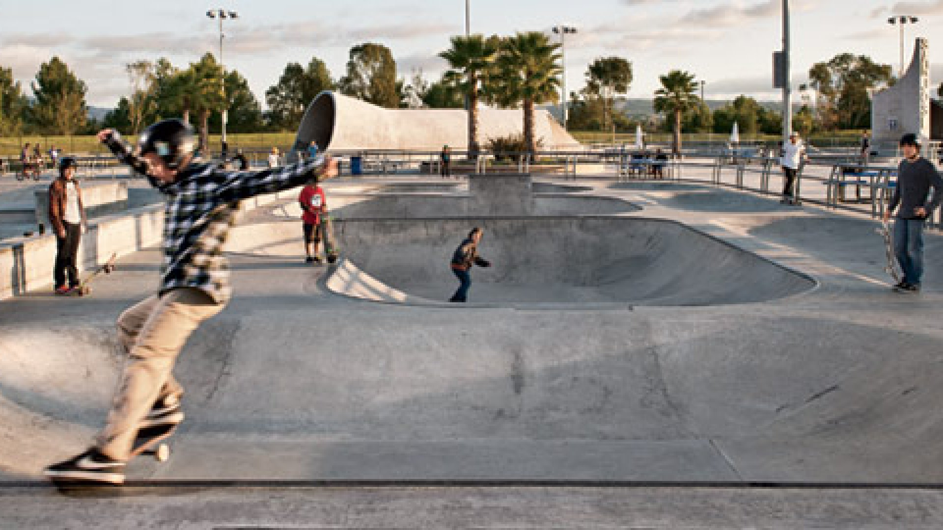 What Goes Into Making a Skate Park?