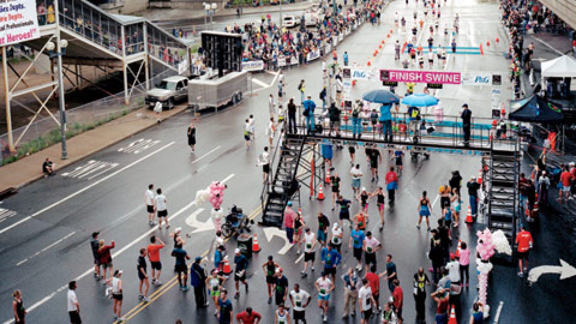 <strong>Cincinnati Flying Pig Marathon, Cincinnati</strong> | 05.01.11 8:27 A.M.