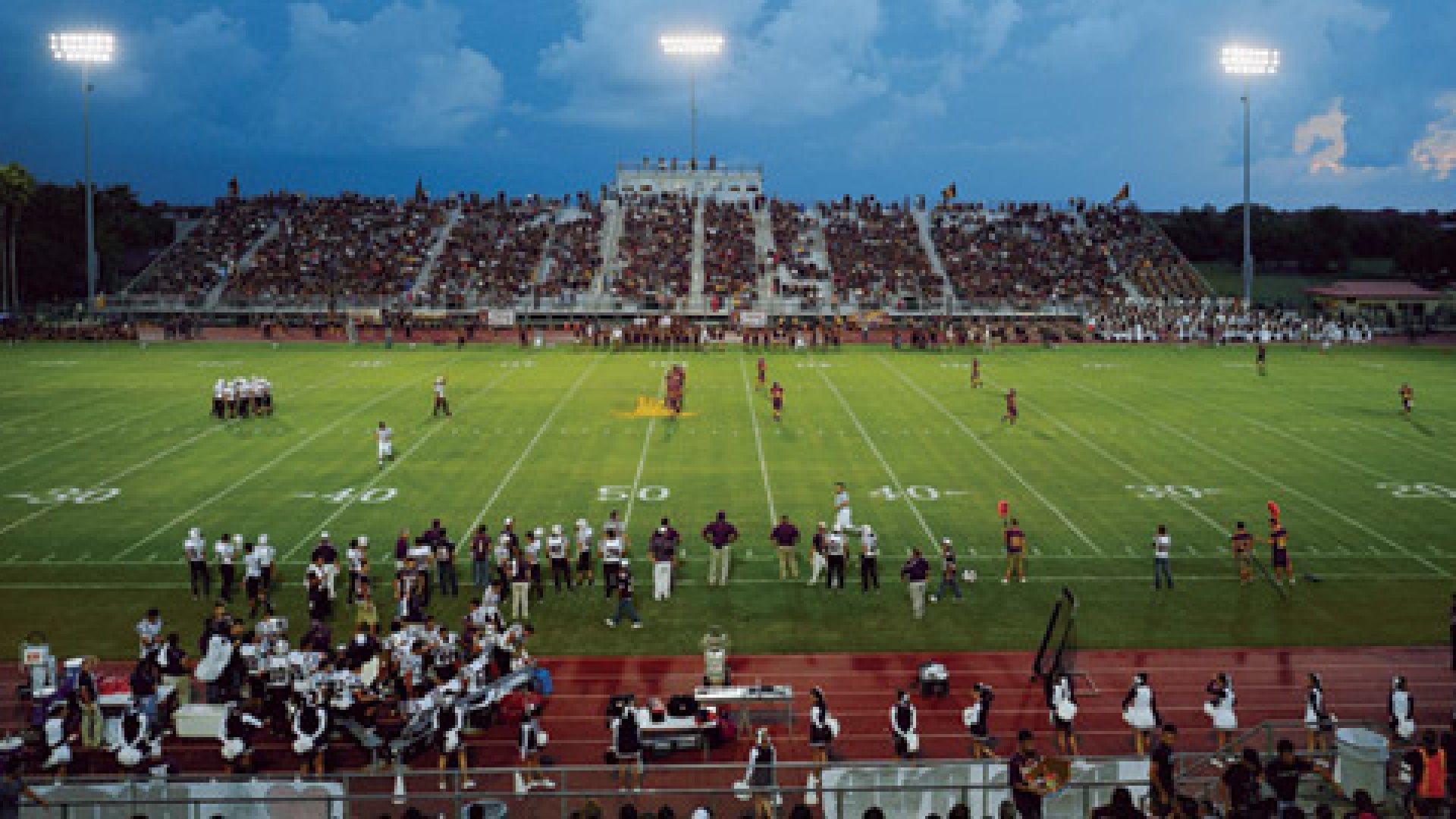 Leo Aguilar Memorial Stadium, Los Fresnos High School, Los Fresnos, Texas | 09.03.10 7:48 P.M.