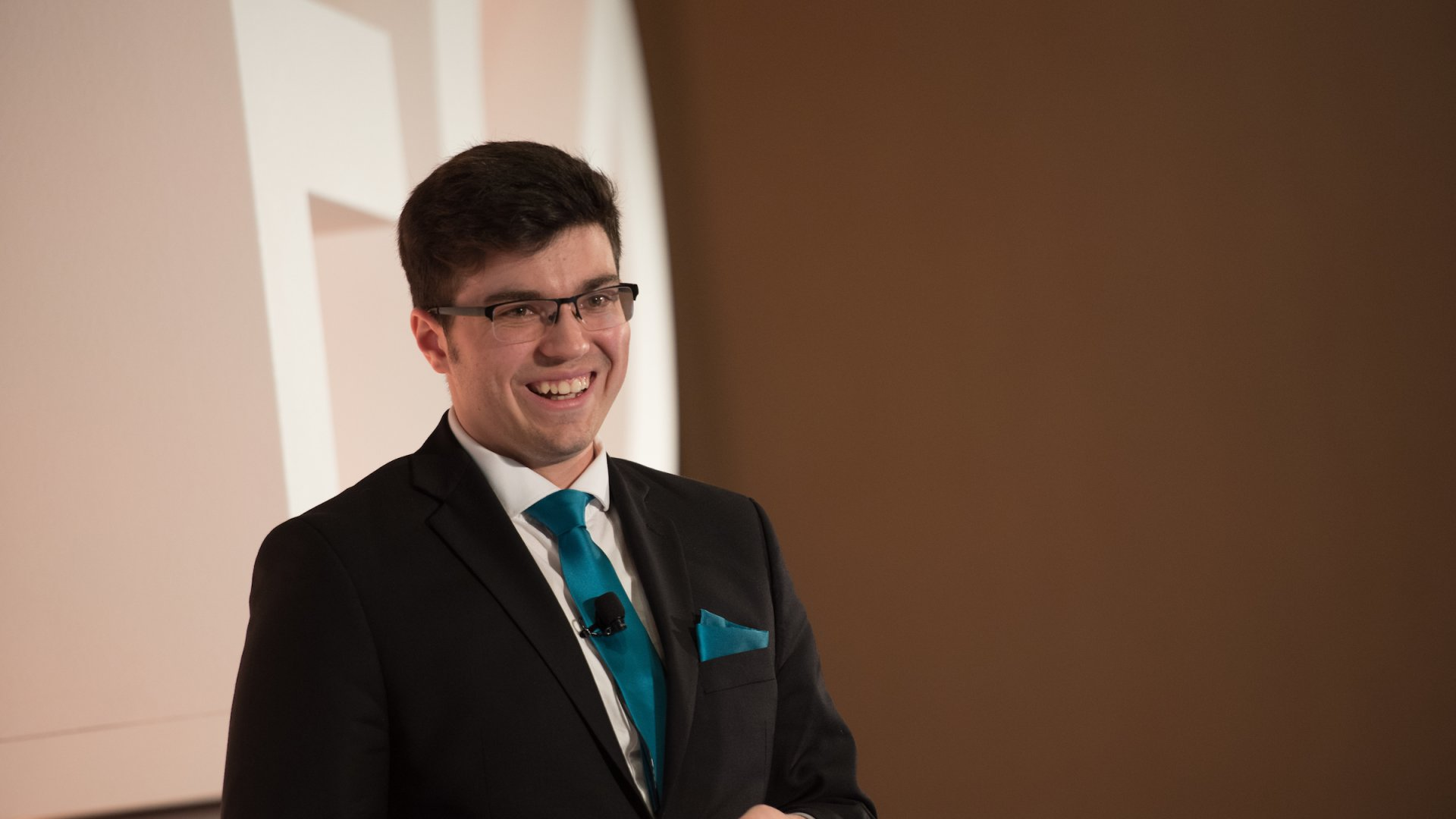 André Bertram represented Canada as a global finalist in the Entrepreneurs' Organization's 2018 Global Student Entrepreneurship Awards competition