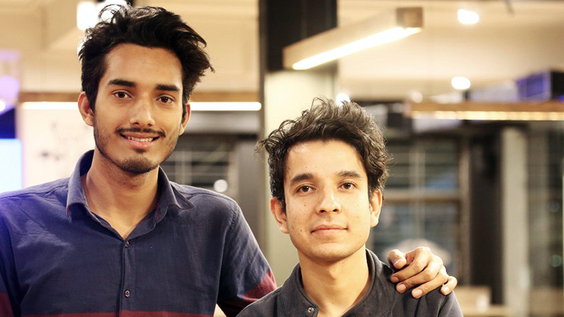 Bameslog founders Bhupinder Nayyar, left, and Ajay Thakur.