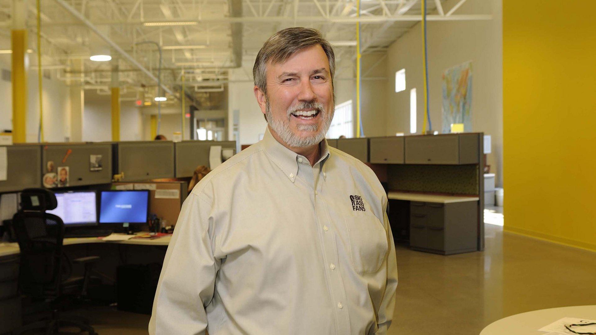 Carey Smith, Chief Big Ass of Big Ass Solutions