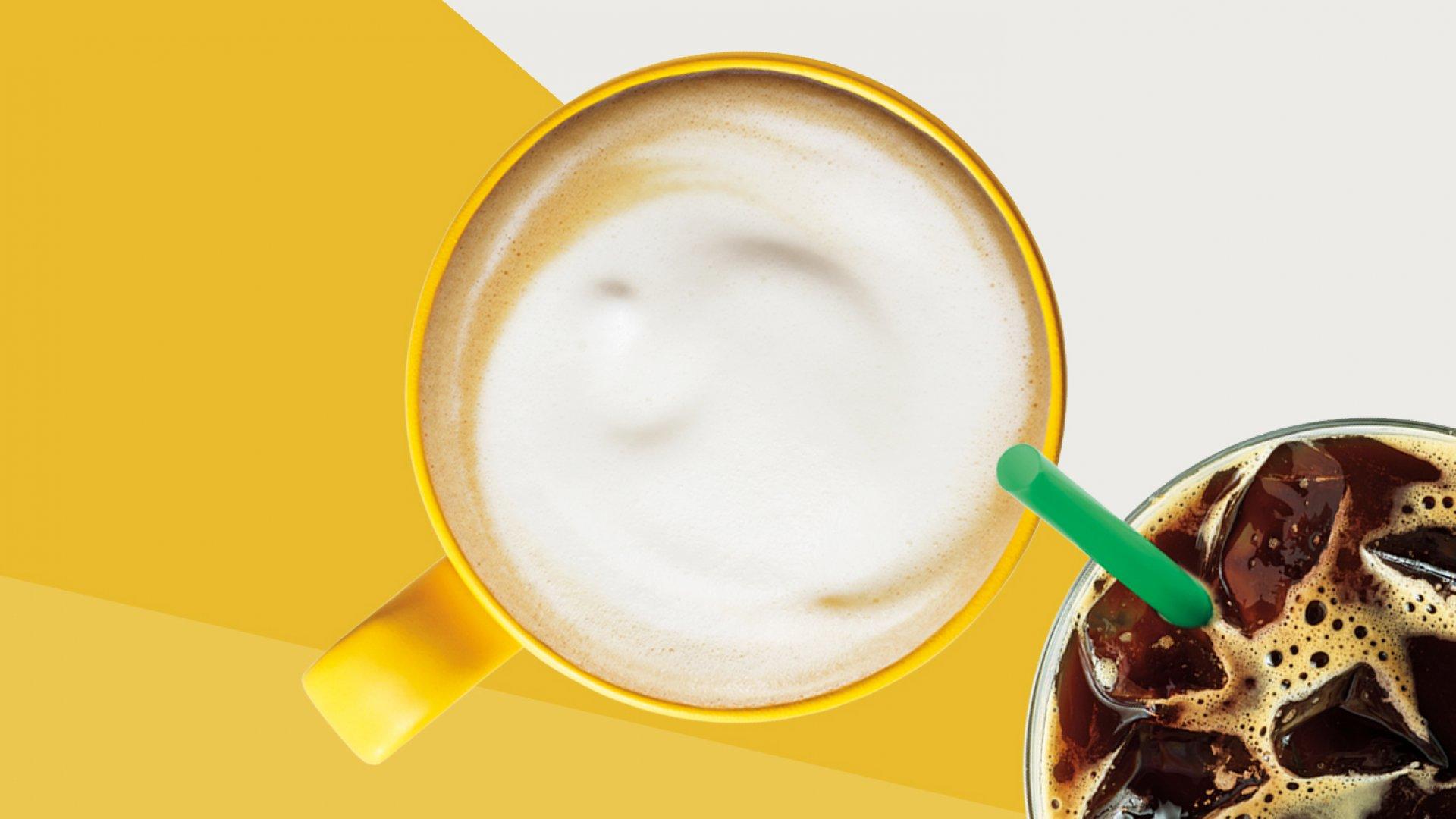 Starbucks Blonde Espresso.