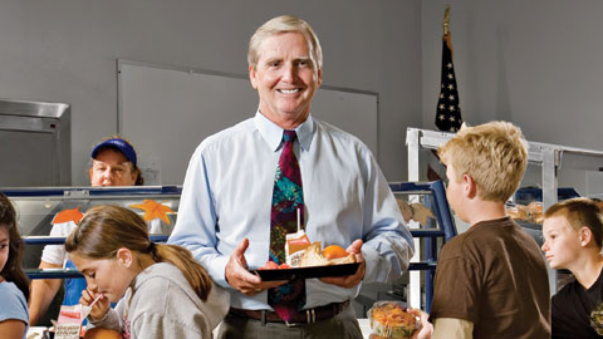 Bob Williamson hopes his food-tracking software will help kids eat smarter.