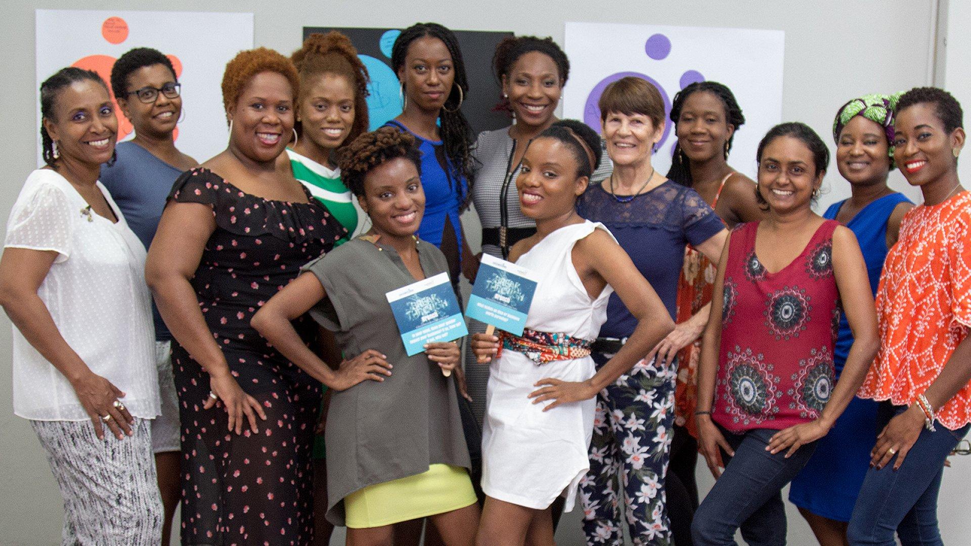 WOMENtrepreneurs enjoy a Breakthrough Brunch on Women's Entrepreneurship Day.