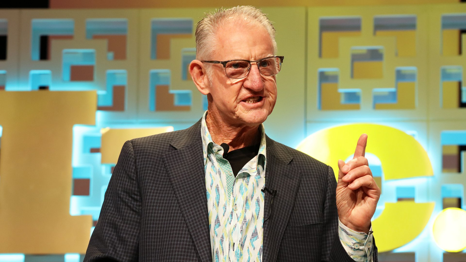 Brian Smith, founder of Ugg Australia Boots, speaks at the Inc. 5000 Conference.