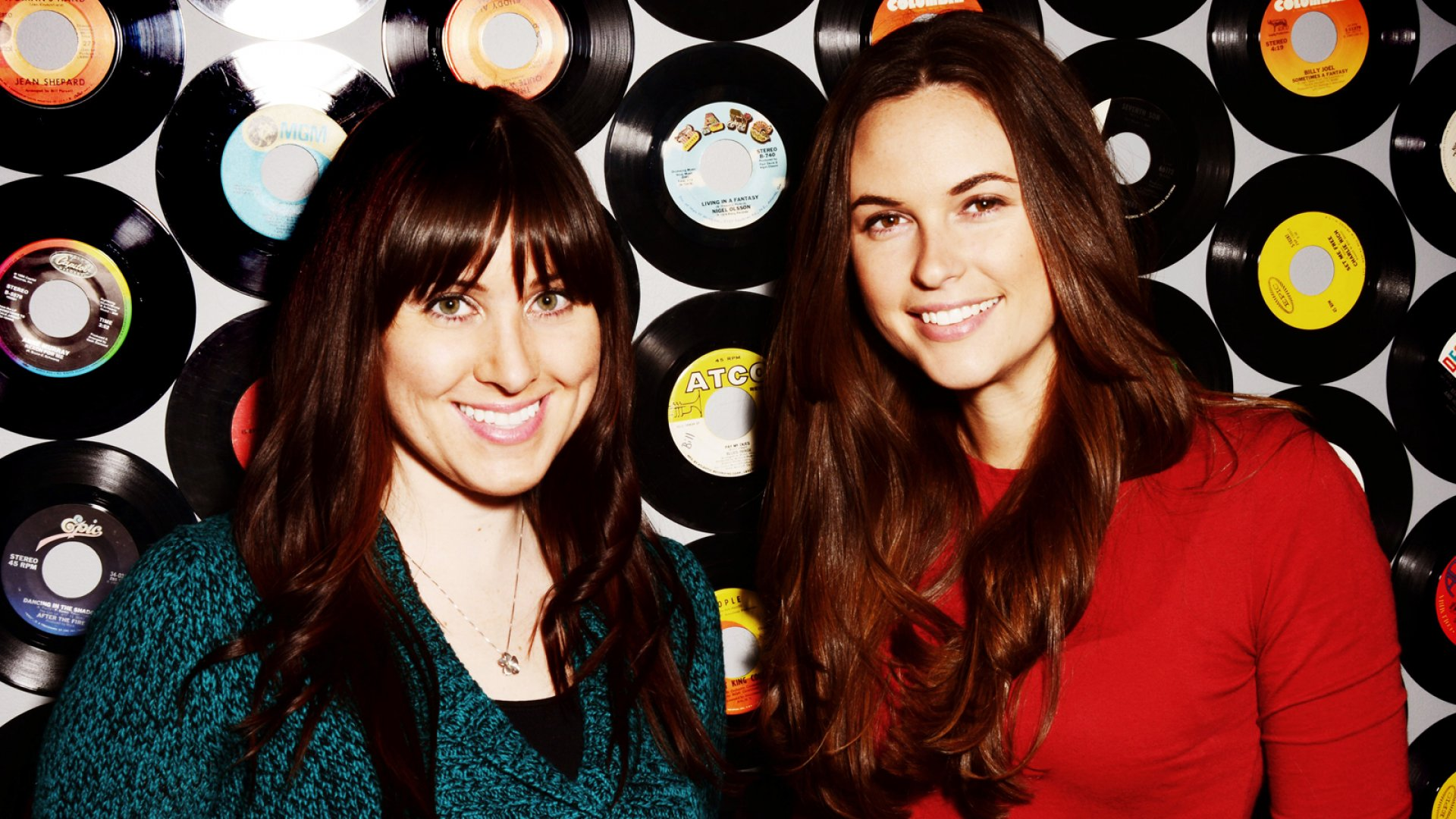 Brittany Hodak (left) and Kim Kaupe (right) co-founded ZinePak as a way to get people enthused about bands again. In the process, they've been selling some serious CDs.