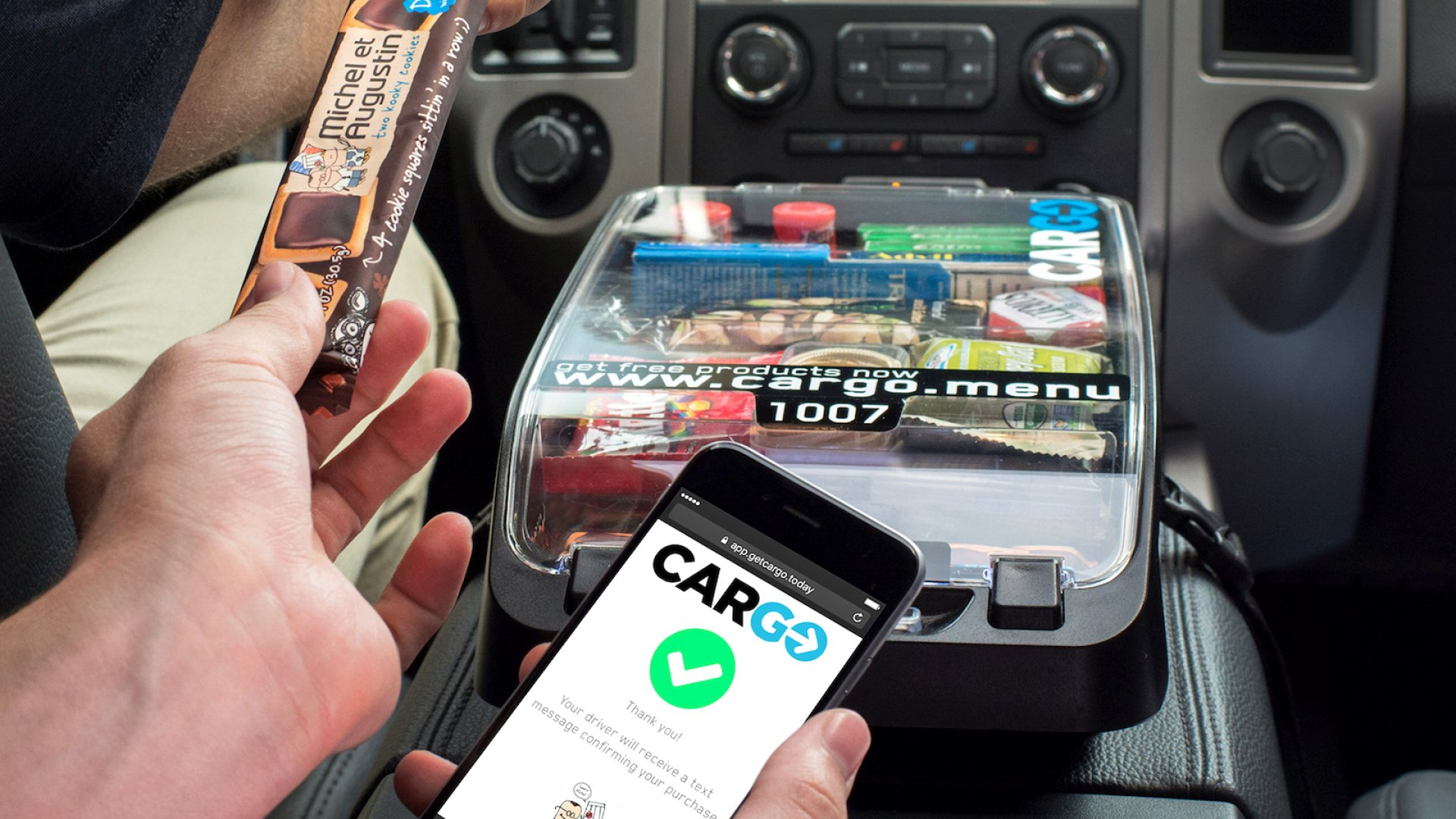 This Startup Is Turning Ubers and Lyfts Into Rolling Convenience Stores