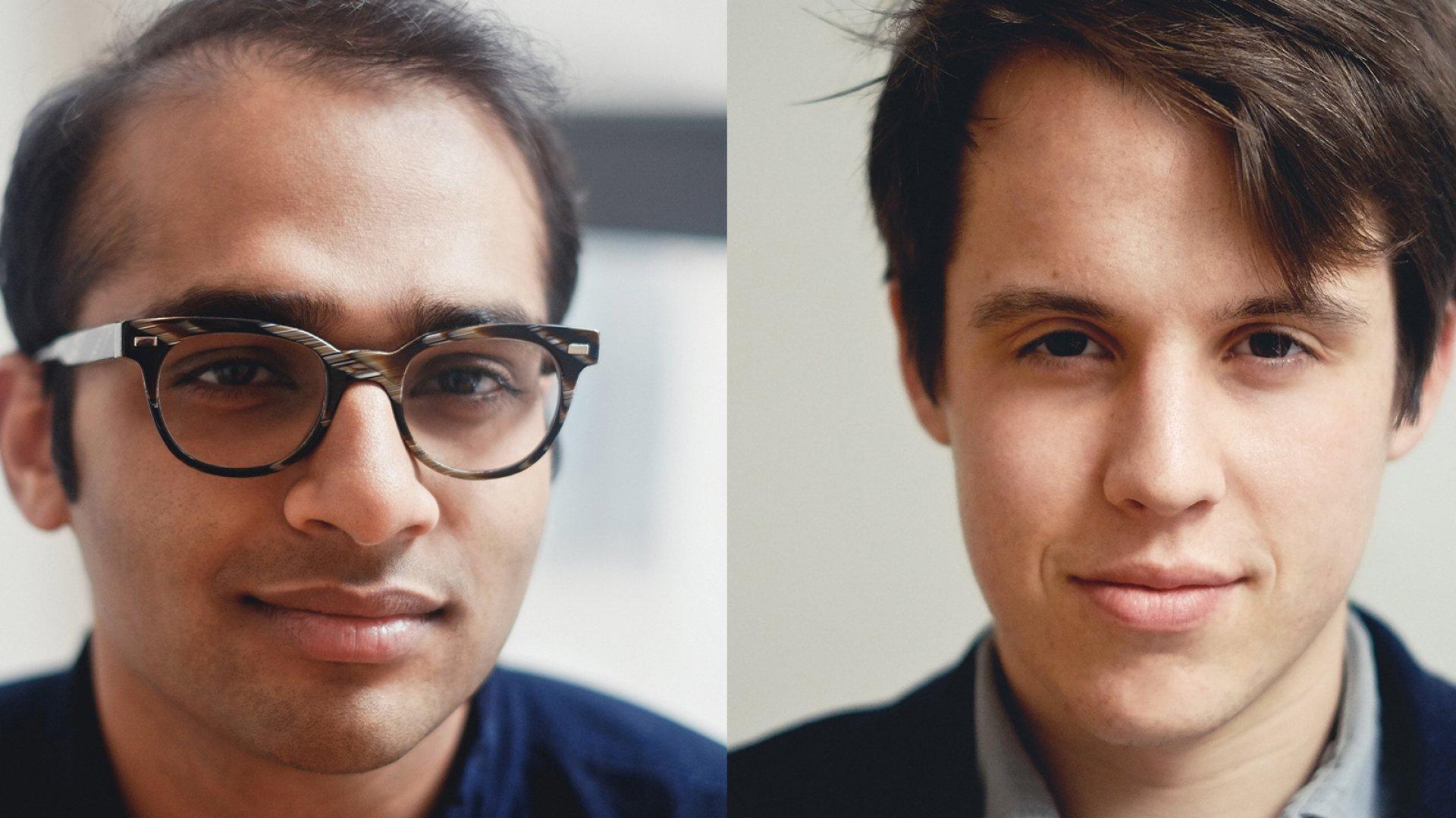 Neil Parikh (left) and Luke Sherwin, two of the five Casper co-founders.