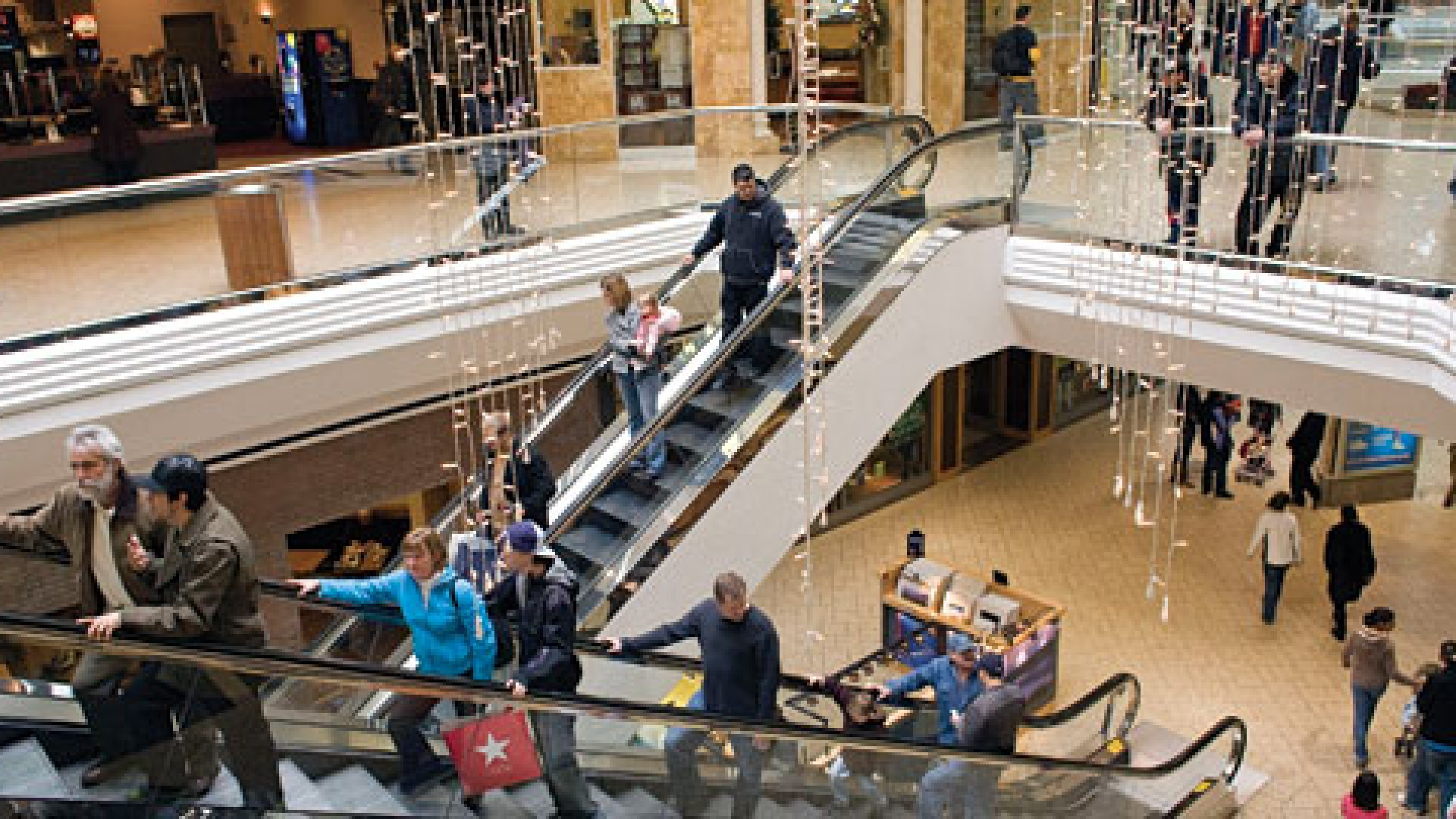 <strong>SHOWN THE DOOR: </strong>Two Sprint store workers at the Cherry Creek Mall in Denver (pictured) were fired when, on their lunch break, they helped a security guard catch an alleged shoplifter.