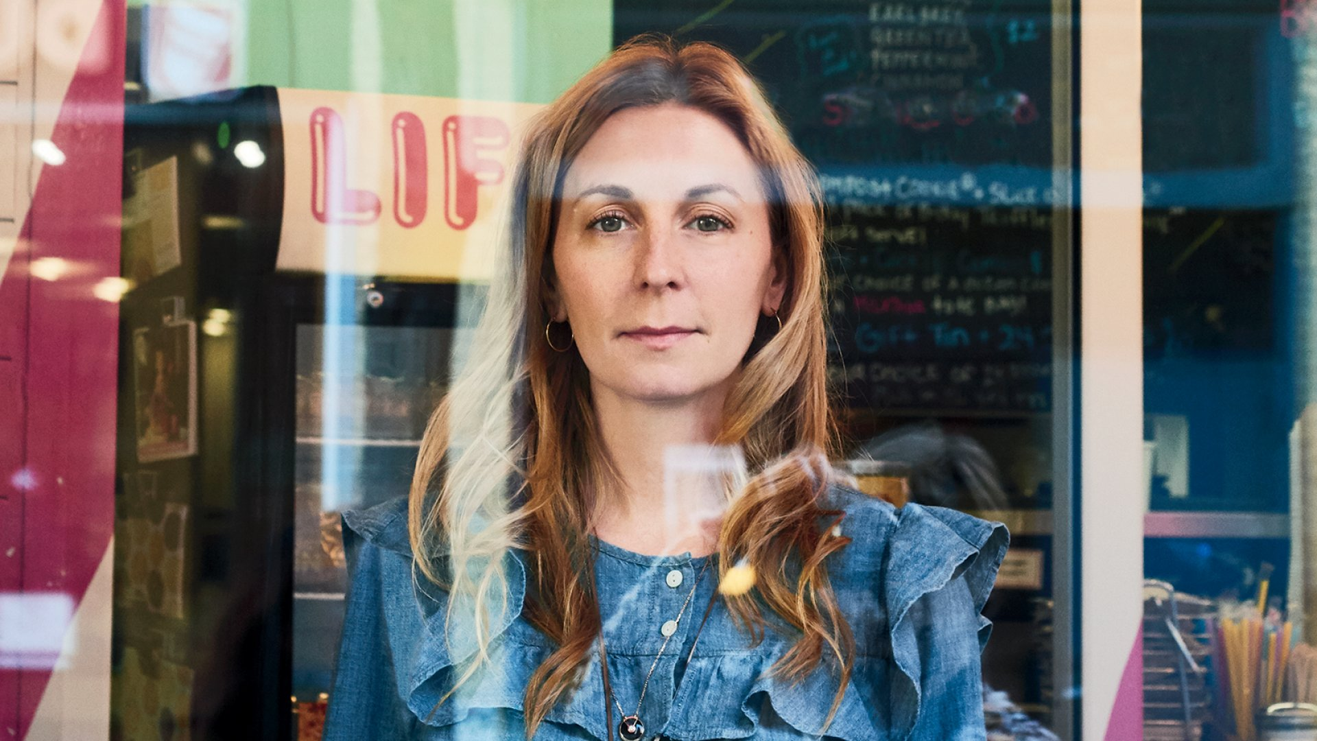 Milk Bar founder and CEO Christina Tosi, who studied engineering, inside her bakery chain's location in New York City's West Village.