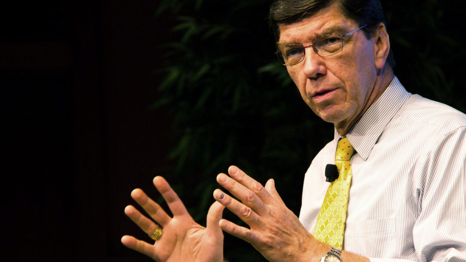 Clayton Christensen, Professor of Business Administration at Harvard Business School.