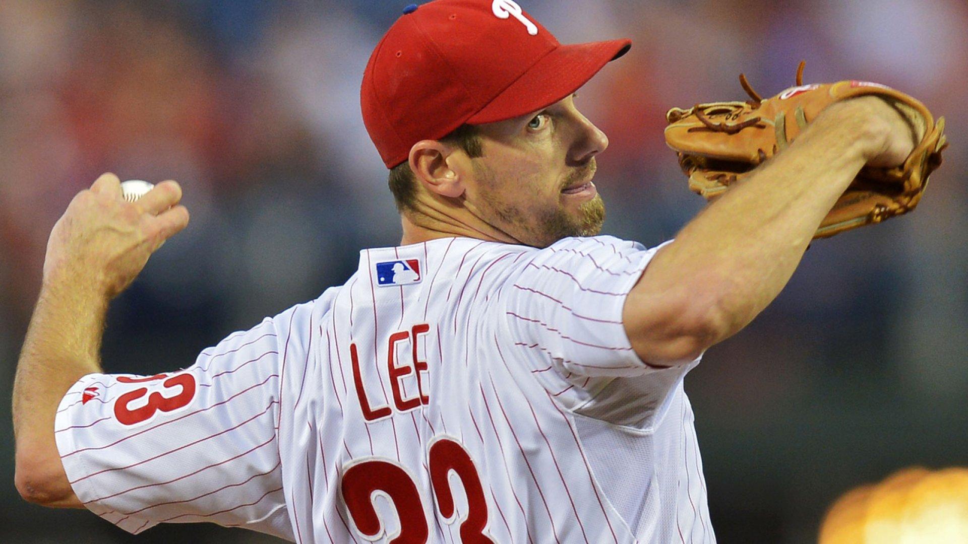 Cliff Lee Philadelphia Phillies
