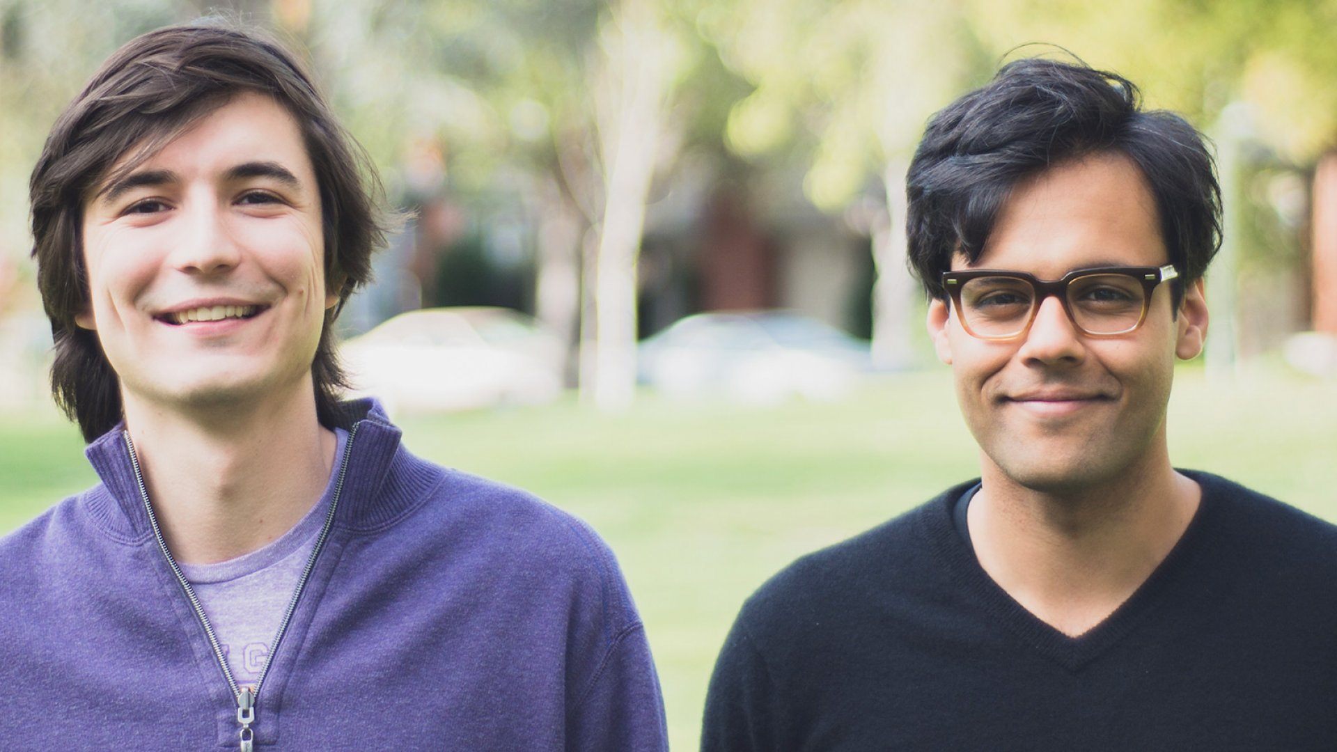 Robinhood co-founders Vladimir Tenev (left) and Baiju Bhatt.