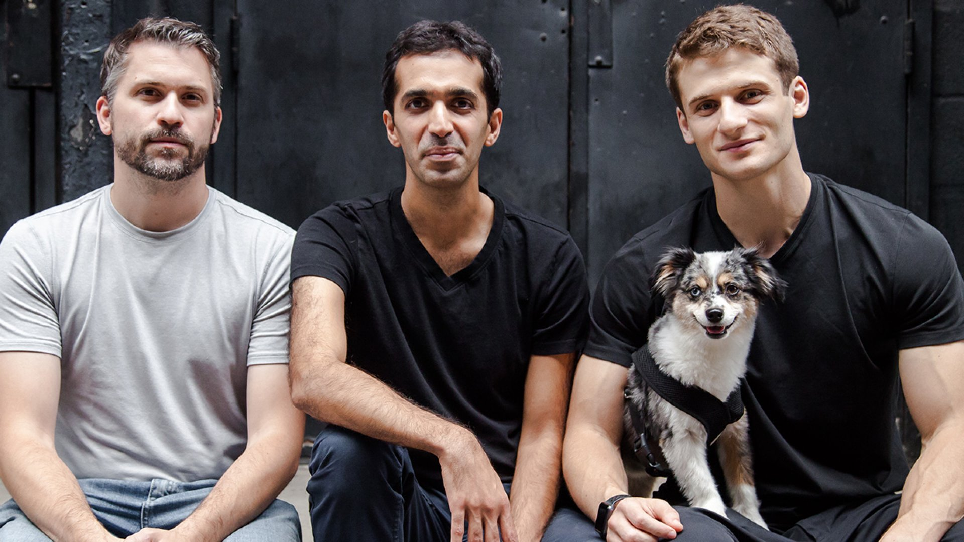 Roman co-founders, from left: Rob Schutz, Saman Rahmanian, and Zachariah Reitano.