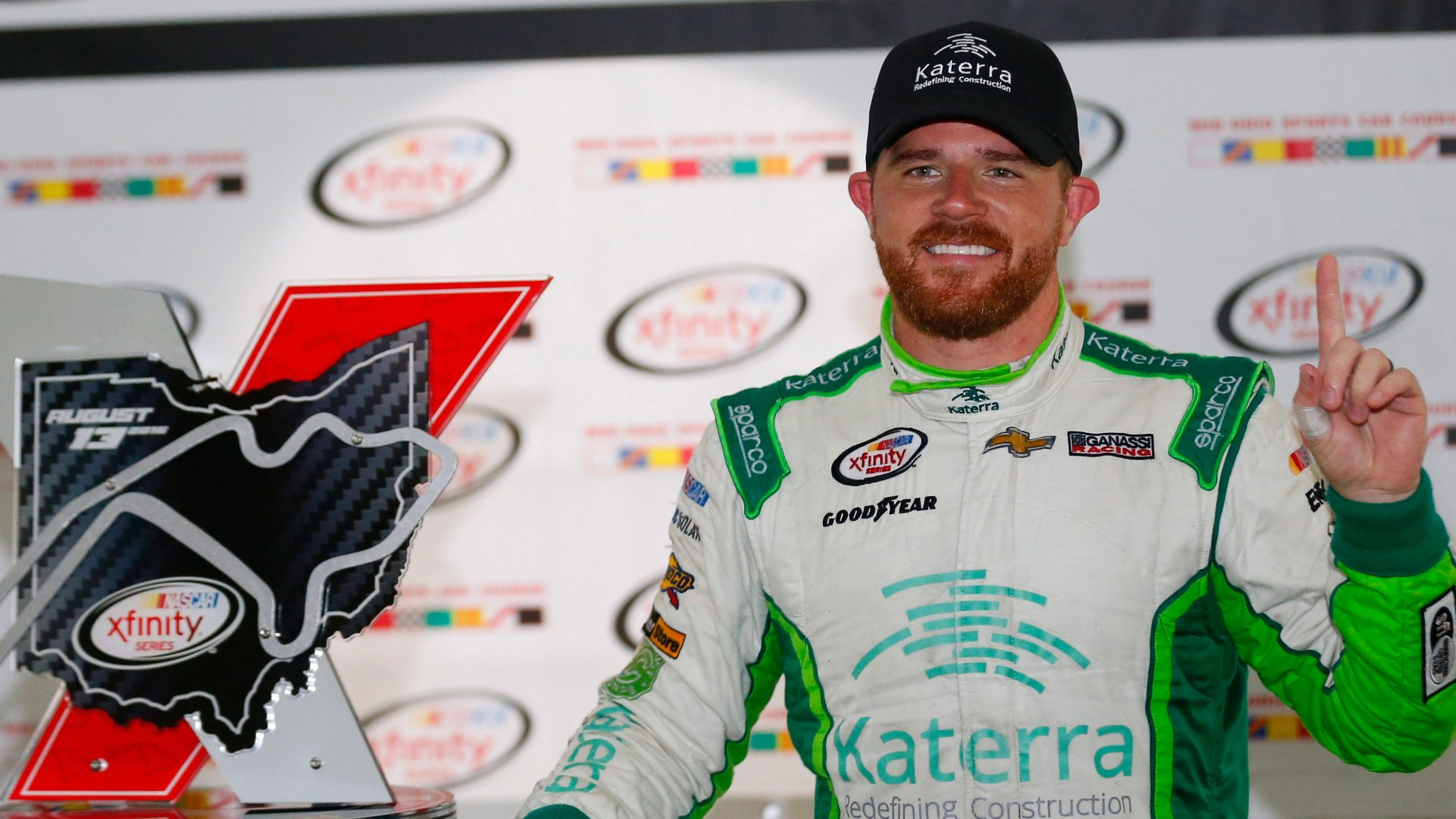 If You Think You Have Nothing in Common With Nascar Drivers, You Don't Know Justin Marks
