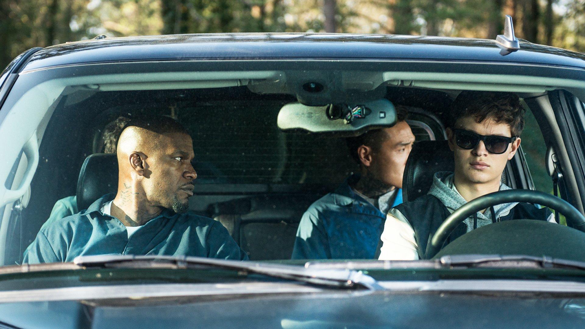 A scene from<em> Baby Driver.</em>
