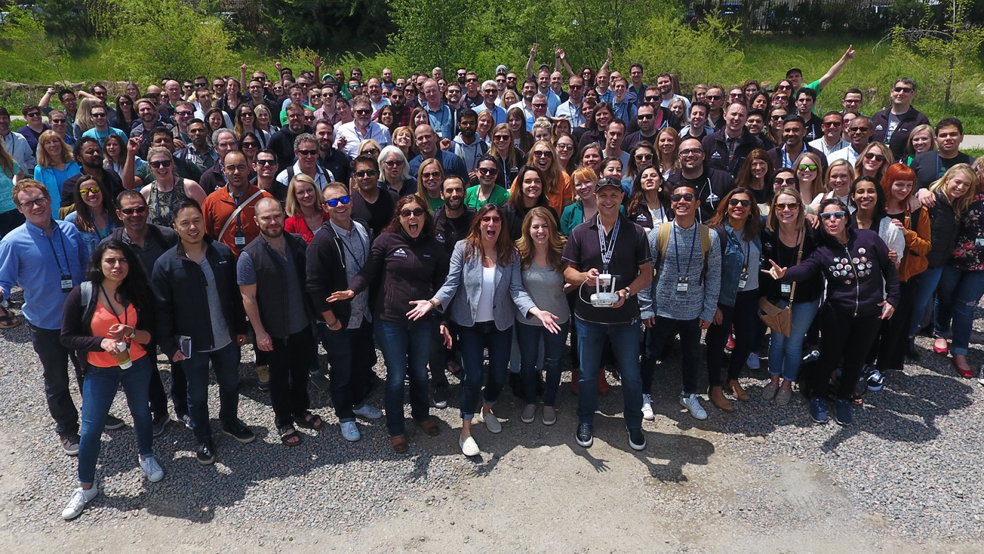 Techstars' global team at the company's annual 2018 StaffCon event.