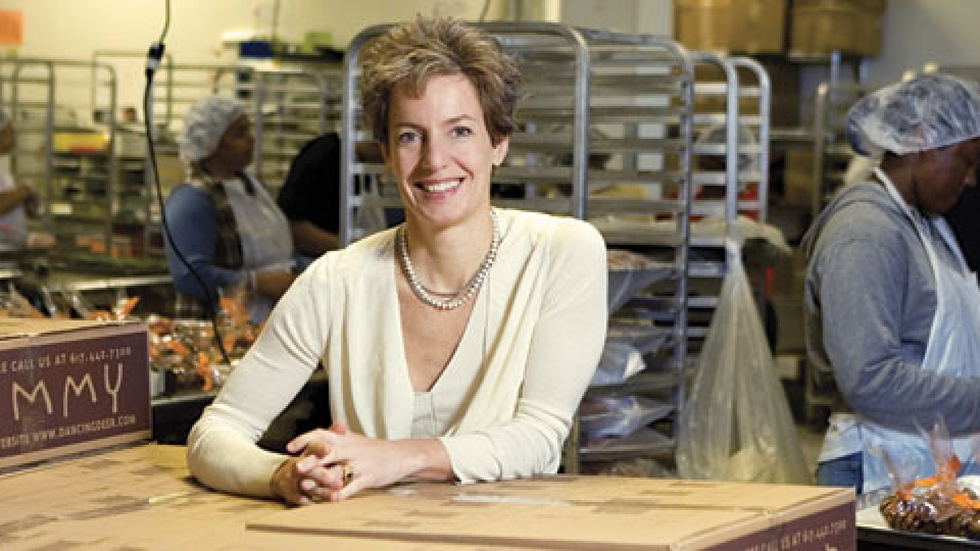 Trish Karter, CEO of Dancing Deer Baking Company, learned social responsibility from her father who helped pioneer industrial recycling.
