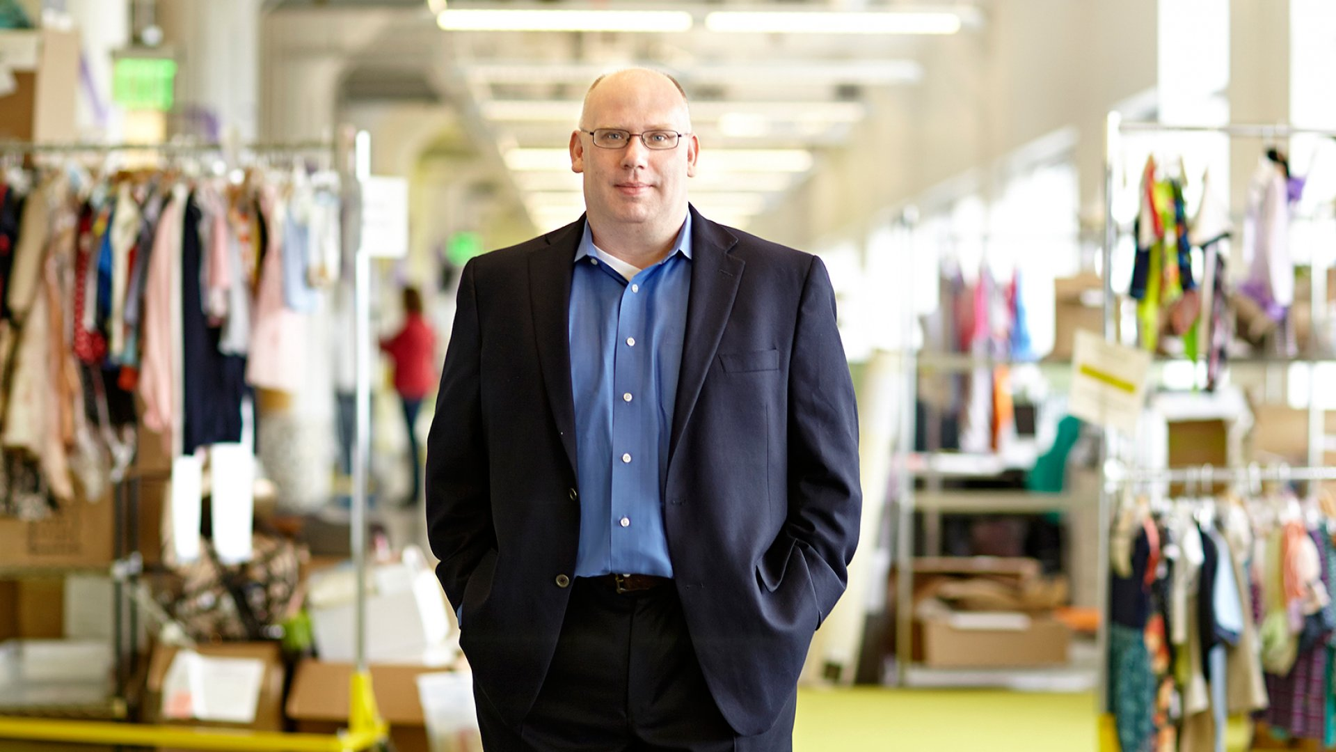Darrell Cavens, CEO of Zulily