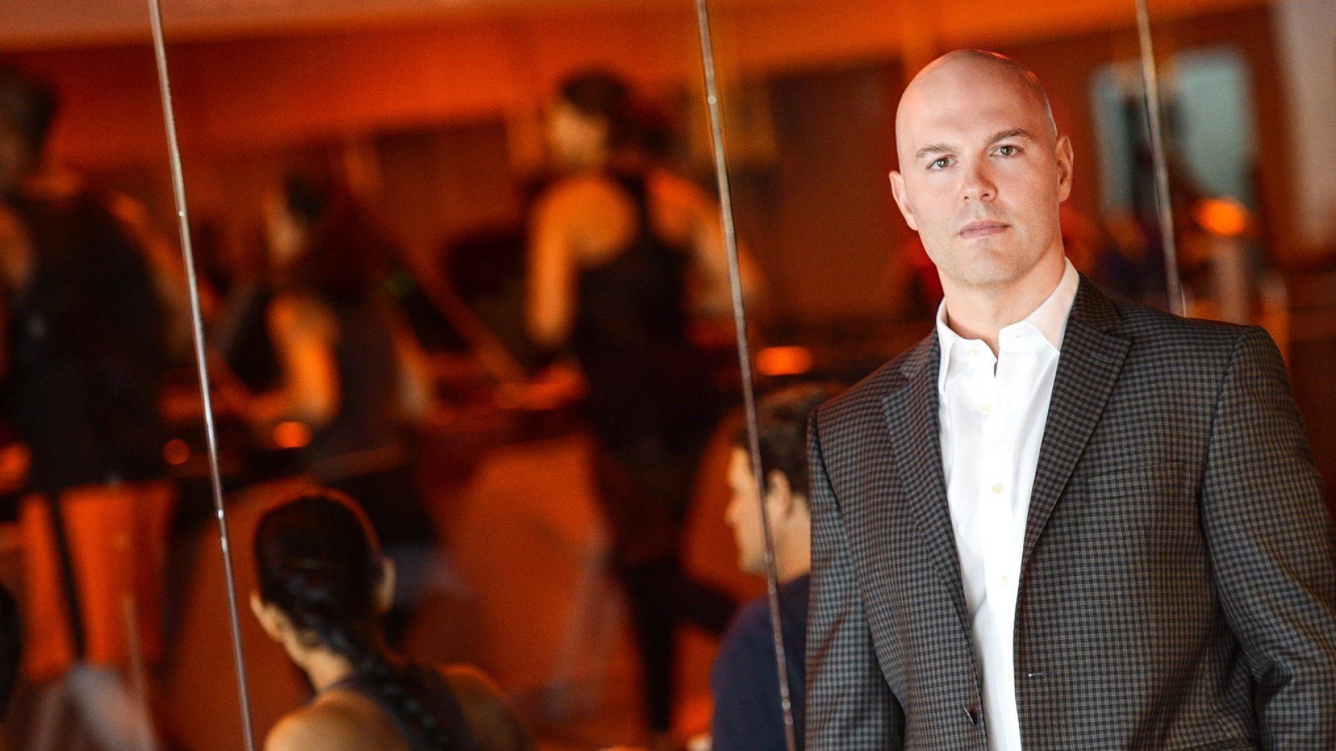 Dave Long, CEO of Orangetheory Fitness.