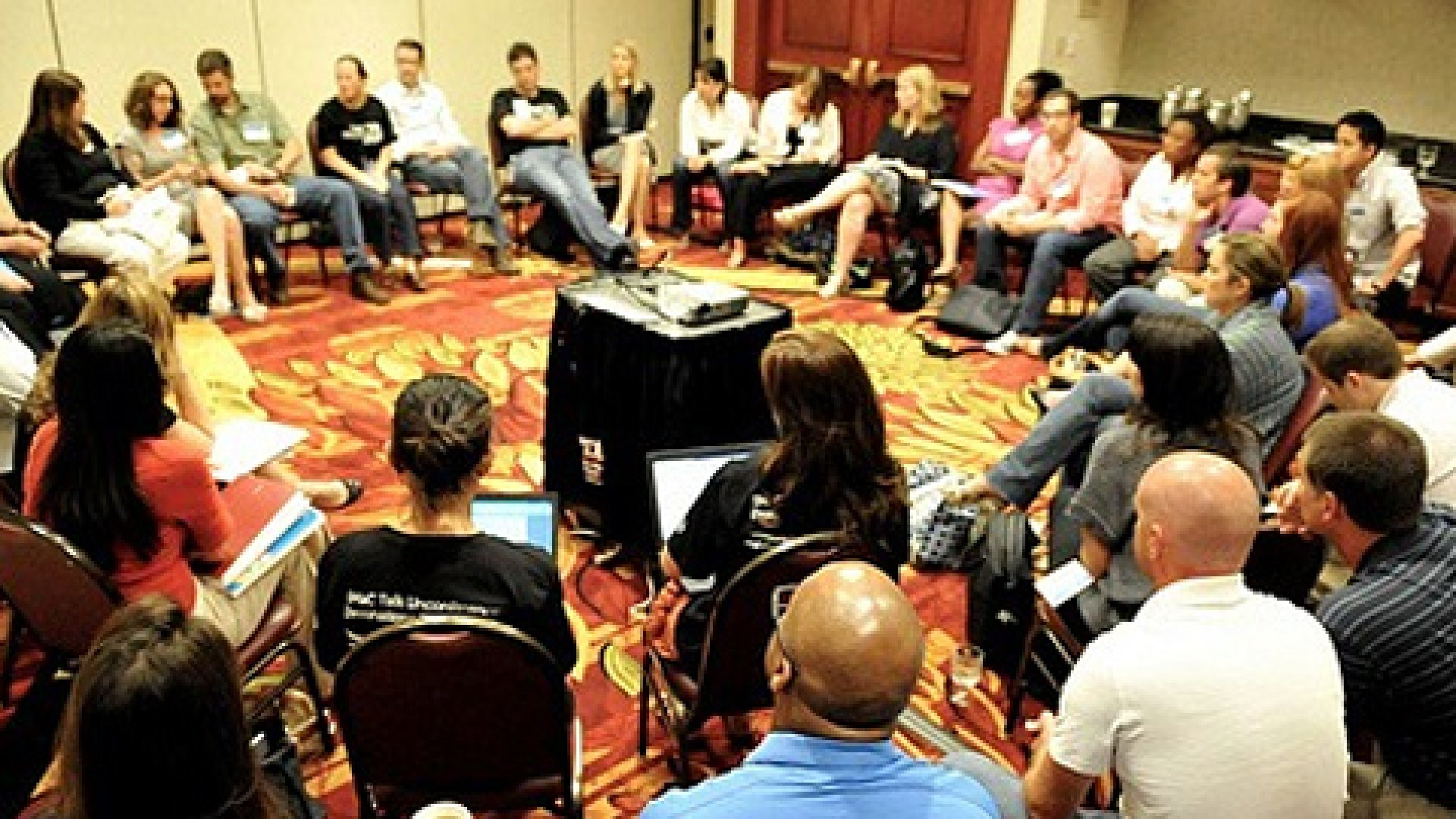 At the Entrepreneur's Unconference, a group of global entrepreneurs talk strategy in an unscripted environment.