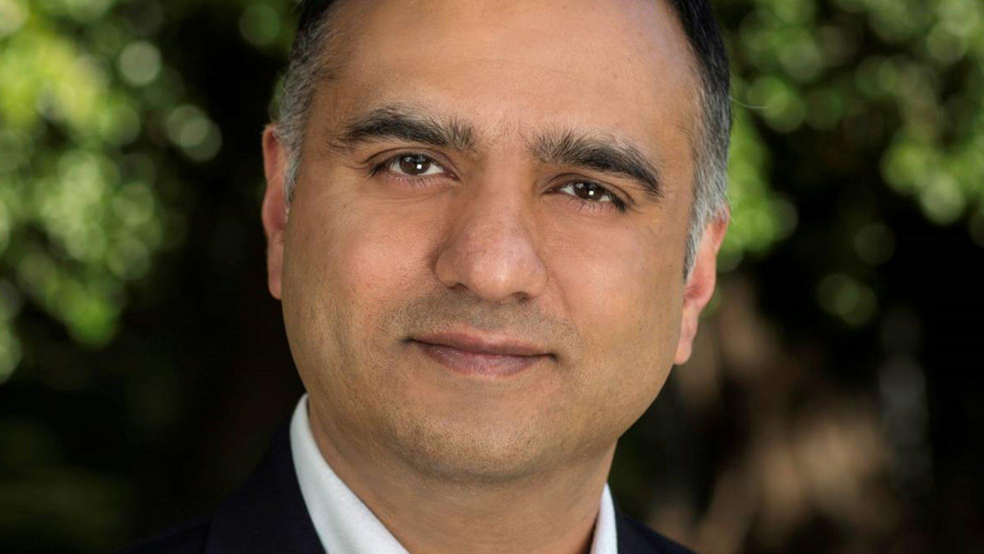 Nutanix co-founder and CEO Dheeraj Pandey.