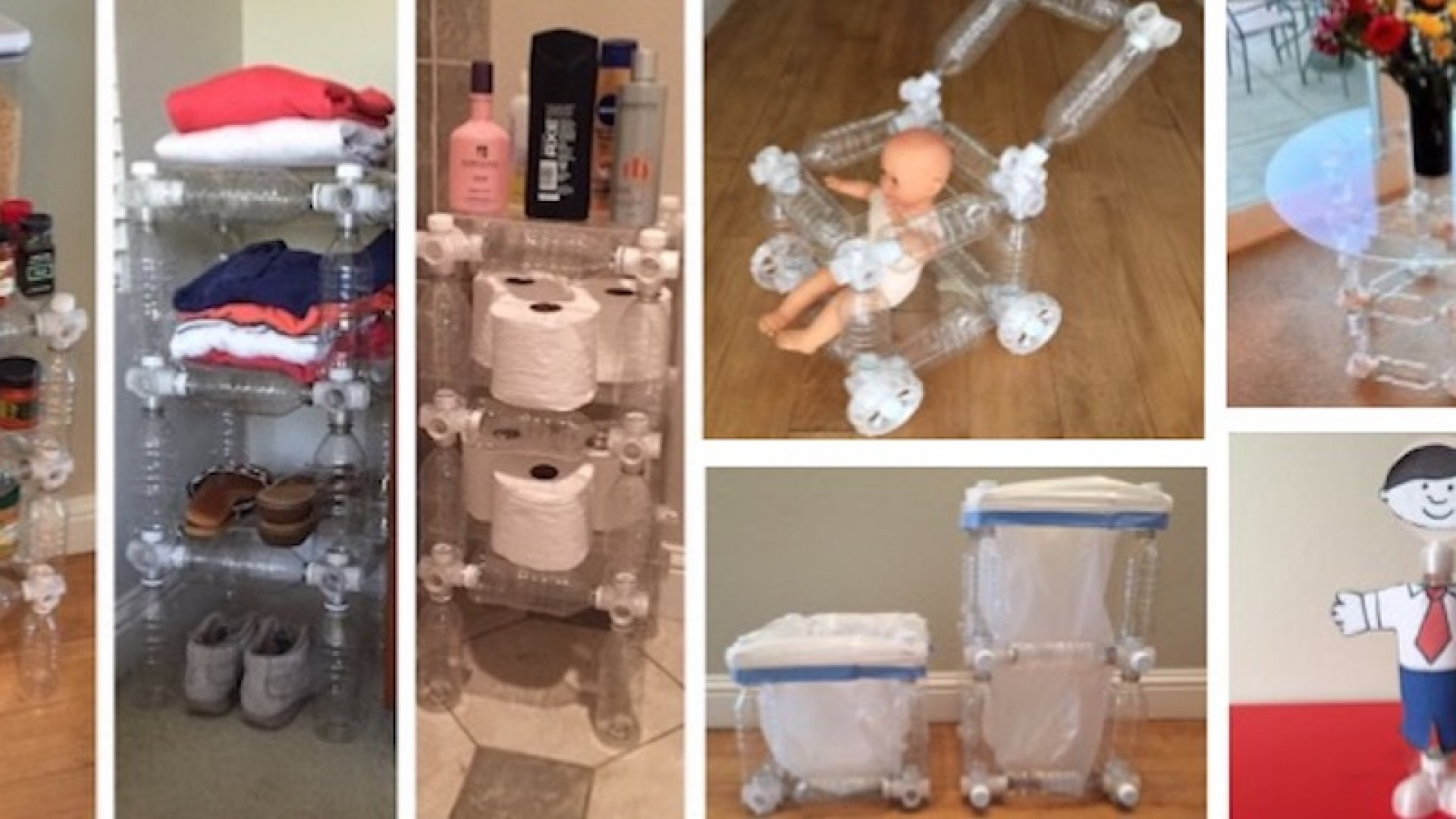 This Crazy Redesign to Plastic Bottles Can Turn Them Into Useful Household Items