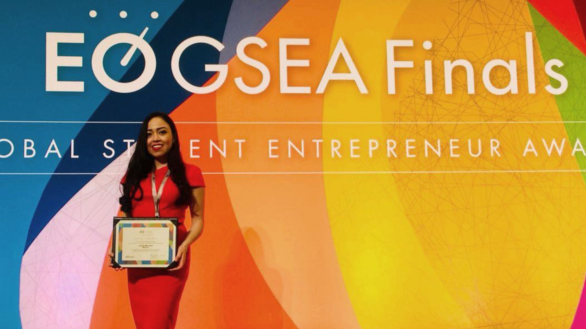 Giselle Mendoza Rocha was a Global Finalist in the 2018 EO Global Student Entrepreneur Awards.