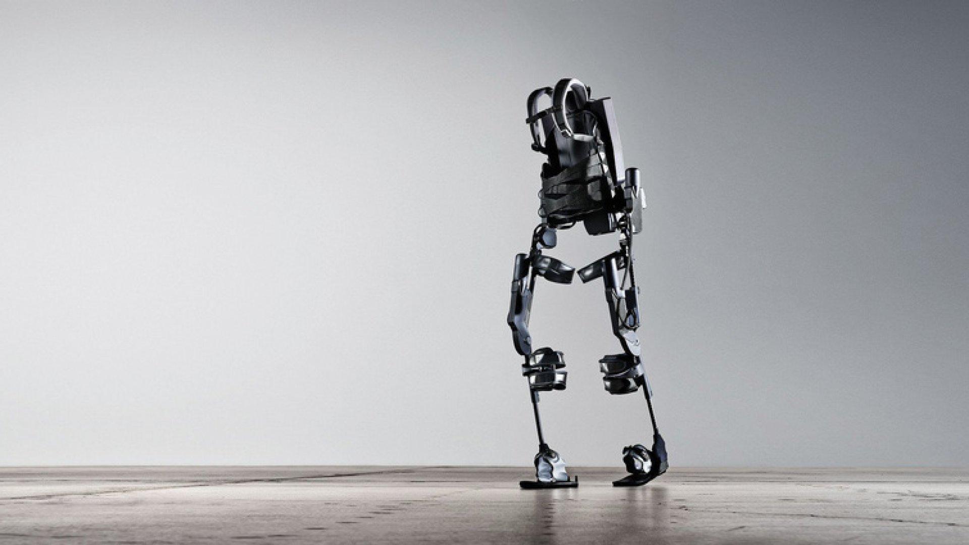The Bionic Exoskeleton, designed by Ekso Bionics.