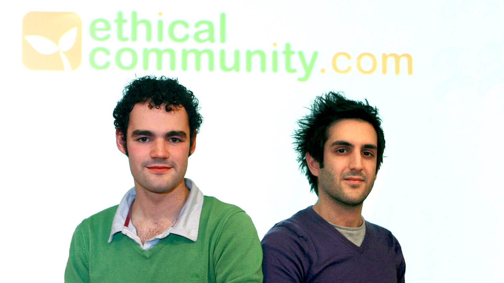 Co-founders Liam Patterson (left) and Jason Dainter (right).