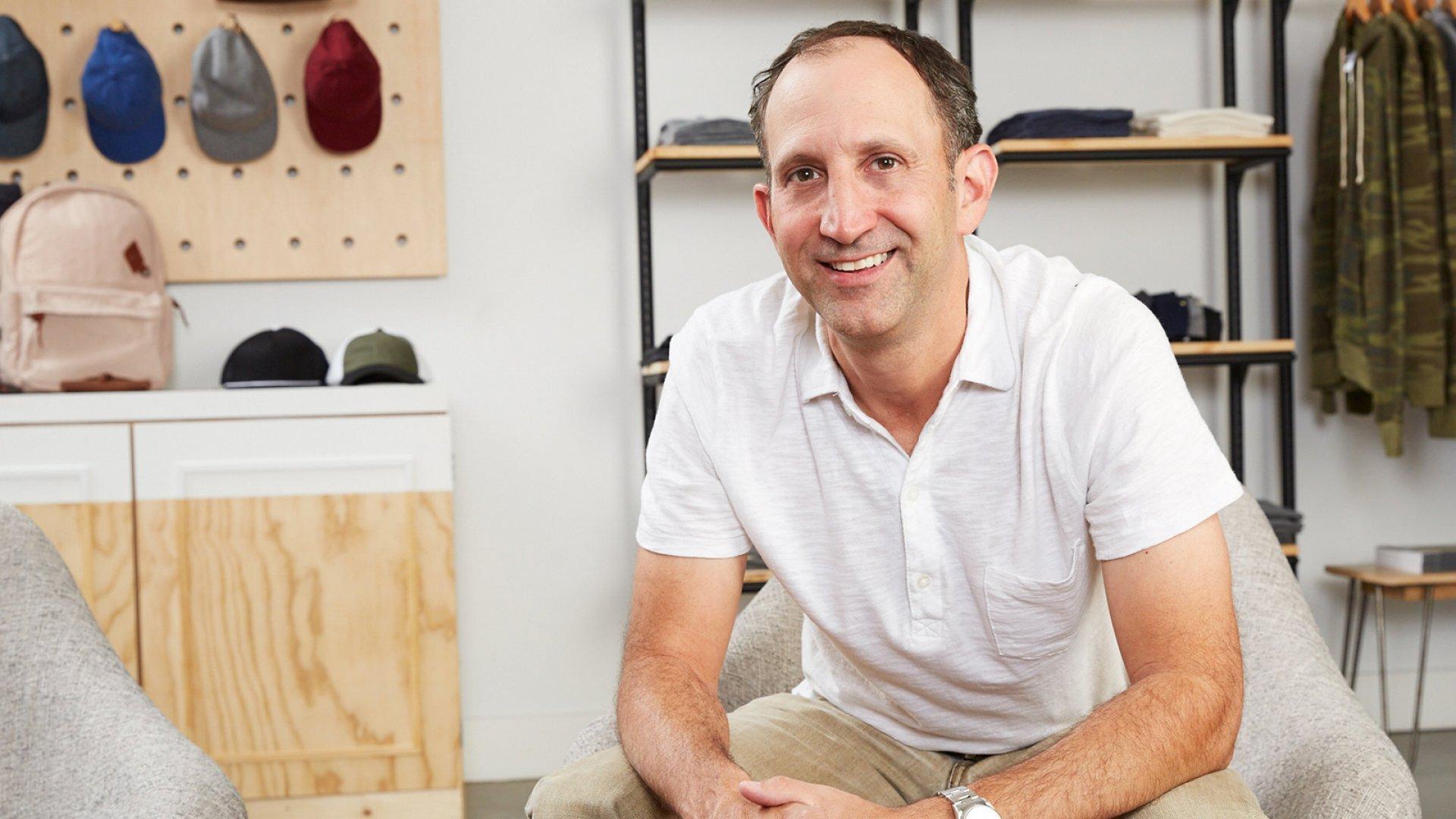 Evan Toporek, CEO of Alternative Apparel.
