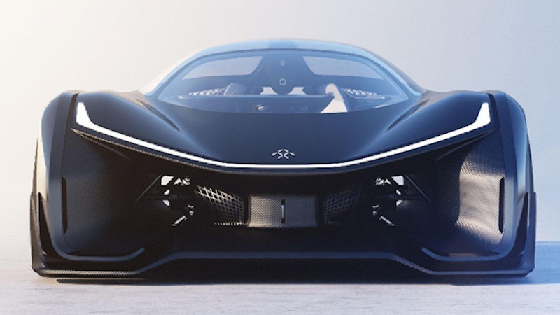 Faraday Future's concept car.