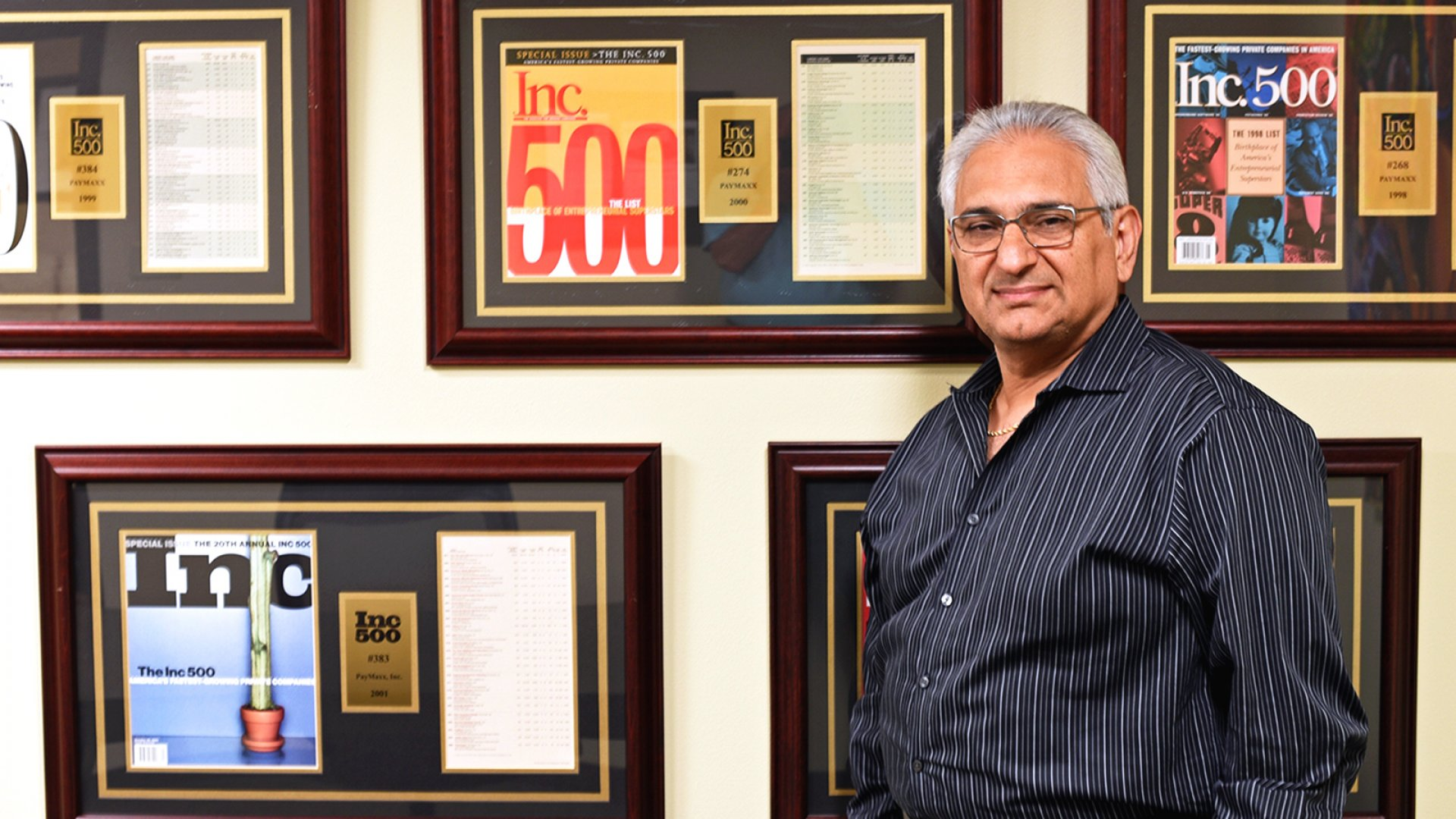 Farsheed Ferdowsi, CEO of Inova Payroll based in Nashville.