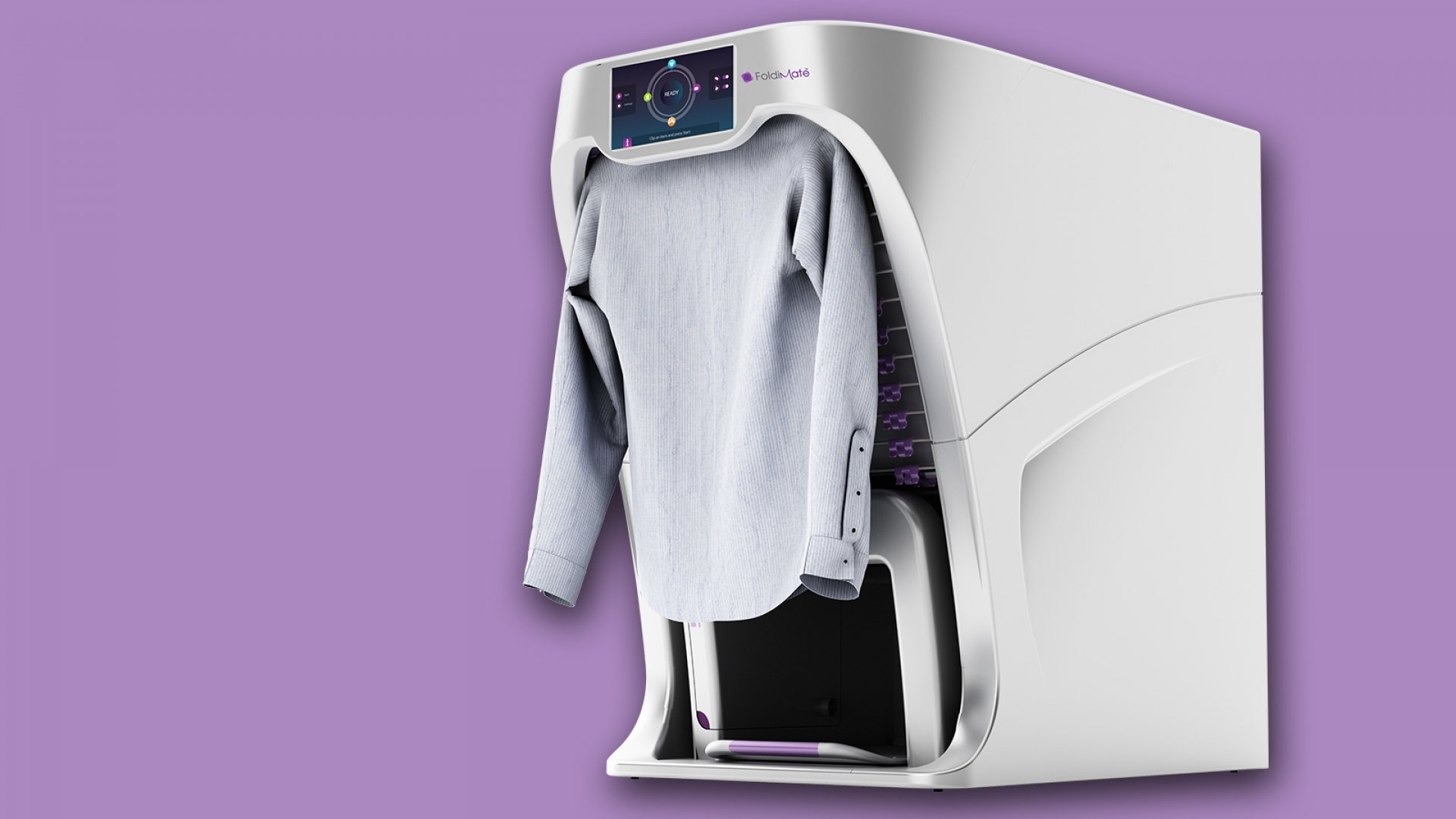 A Frustrated Father Has Invented the Laundry-Folding Robot of Your Dreams