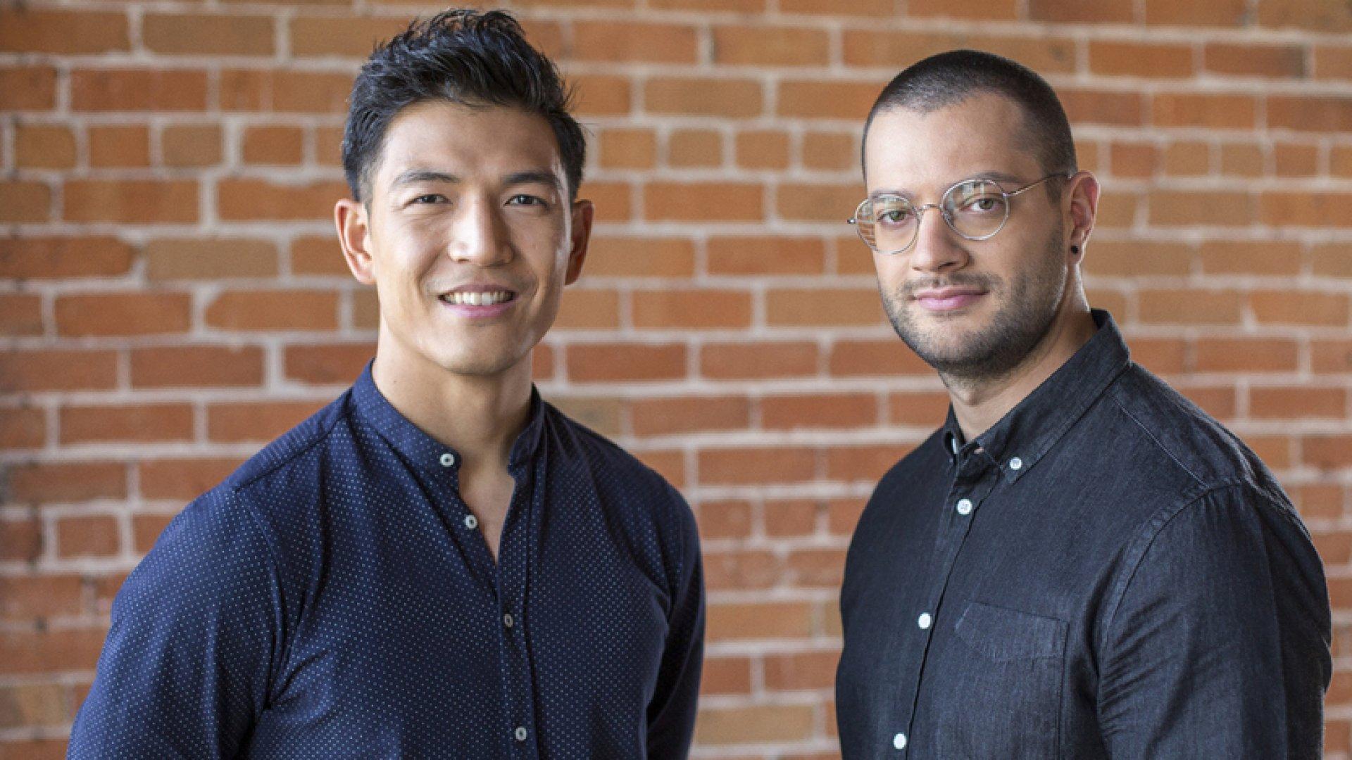 Tuft & Needle founder Daehee Park (left) and John-Thomas Marino.