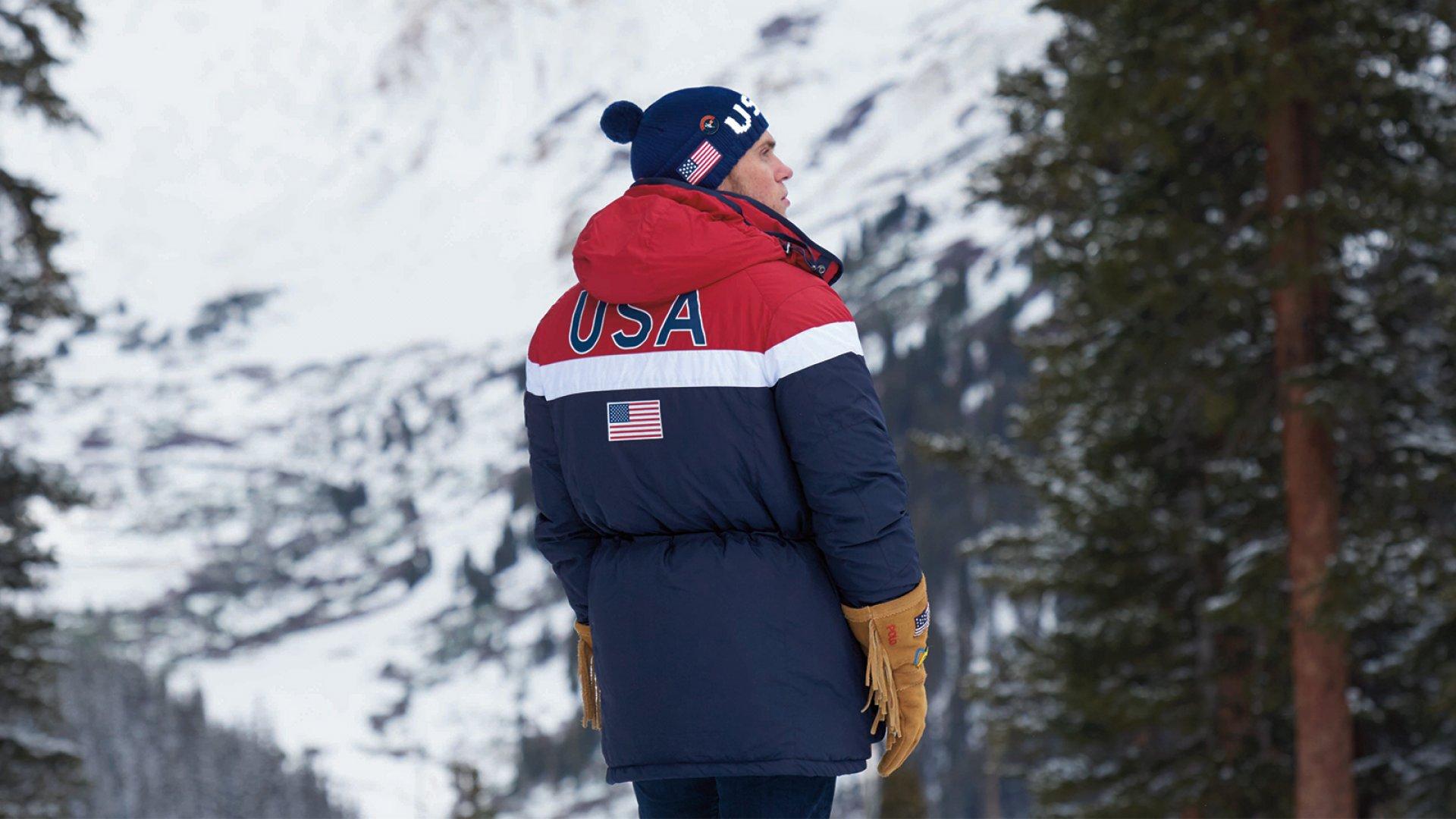 Ralph Lauren Olympic heated jacket.