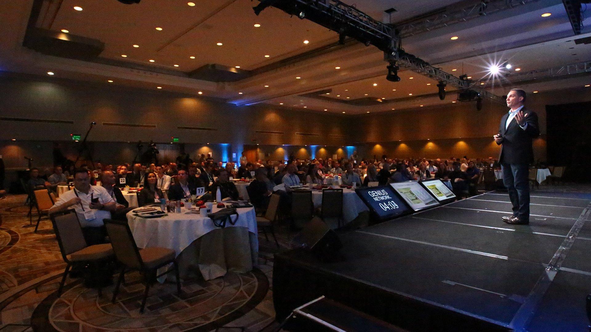 Ryan Deiss talks digital marketing at Genius Network's 2018 event in Arizona