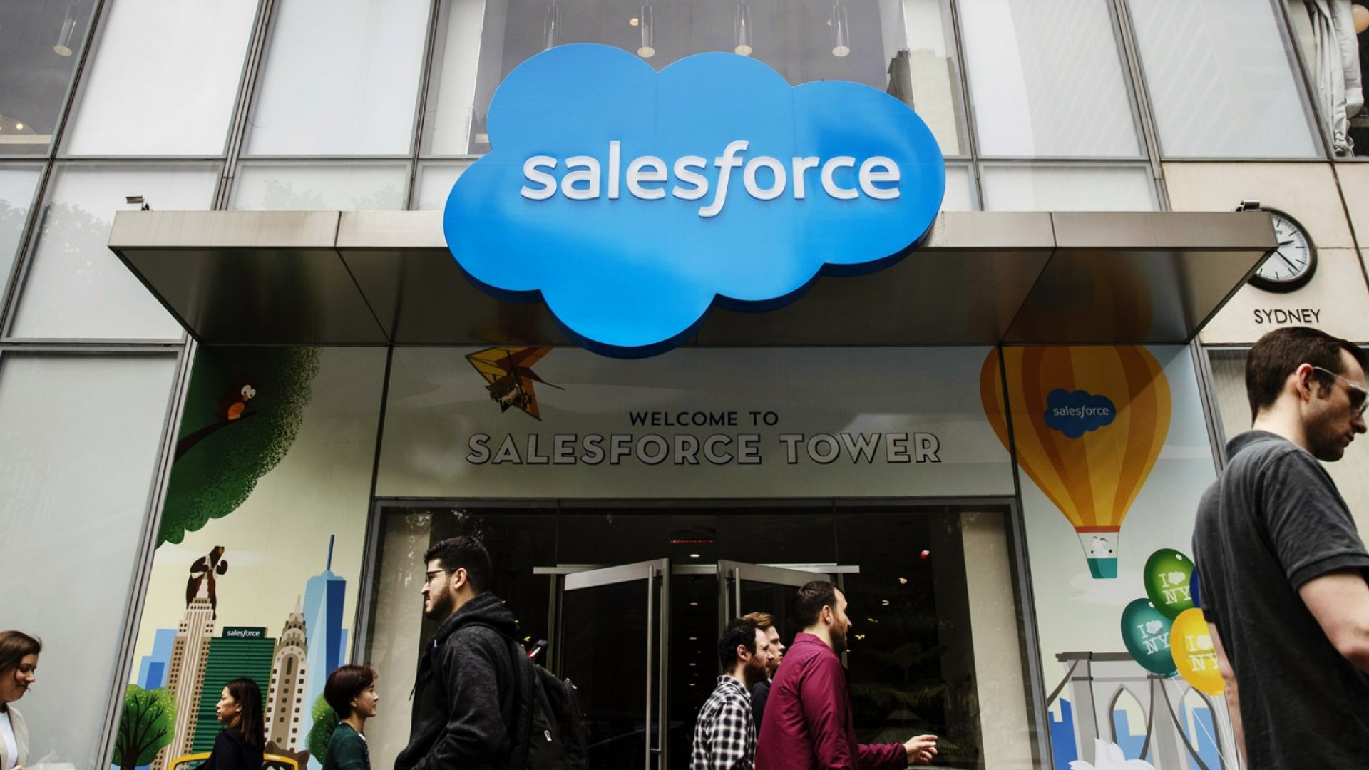 Salesforce Announced Its Biggest Deal Ever, Buying Data Visualizer Tableau for $15.7 Billion. Here's Why It Matters