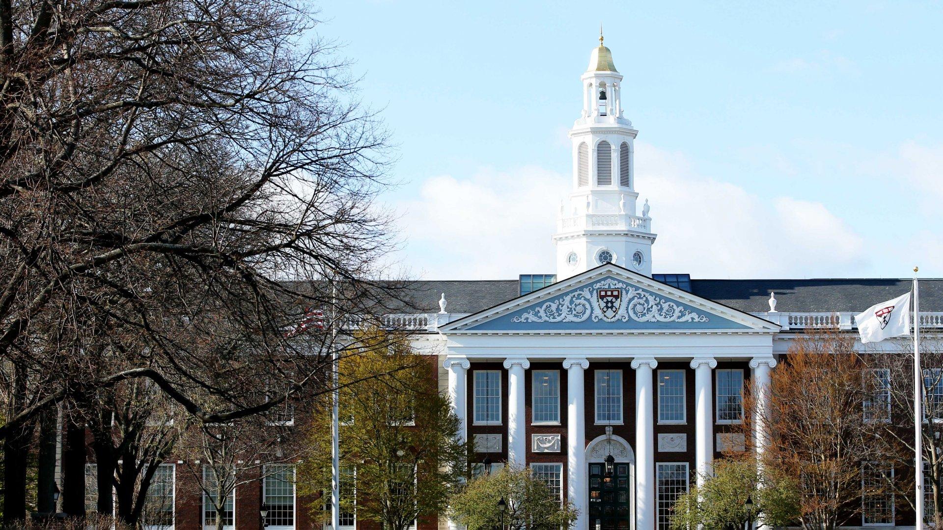 Harvard University in Cambridge, Massachusetts, on April 22, 2020.