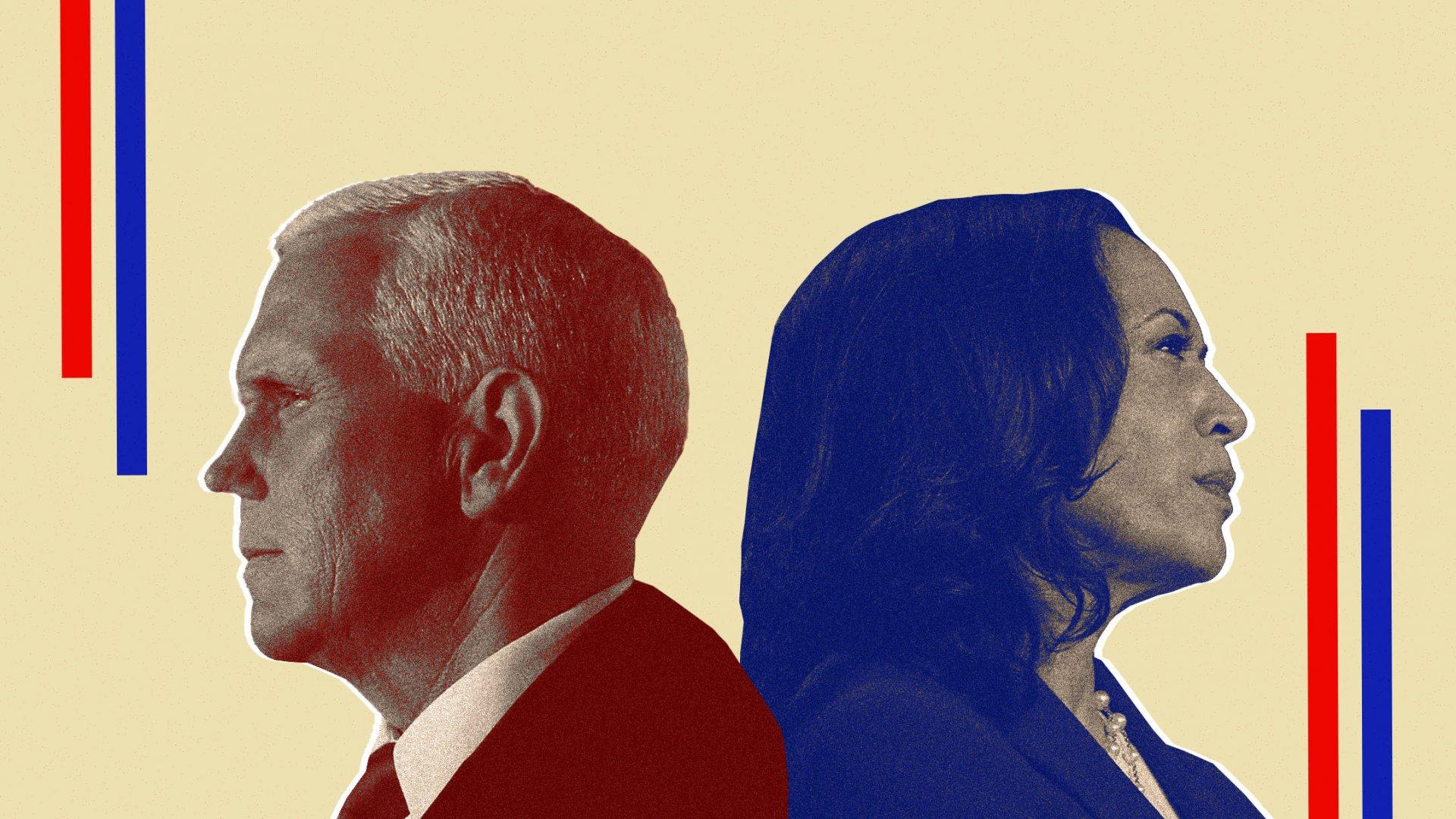 At VP Debate, Kamala Harris Gave a Master Class in Handling Someone Who Won't Stop Talking