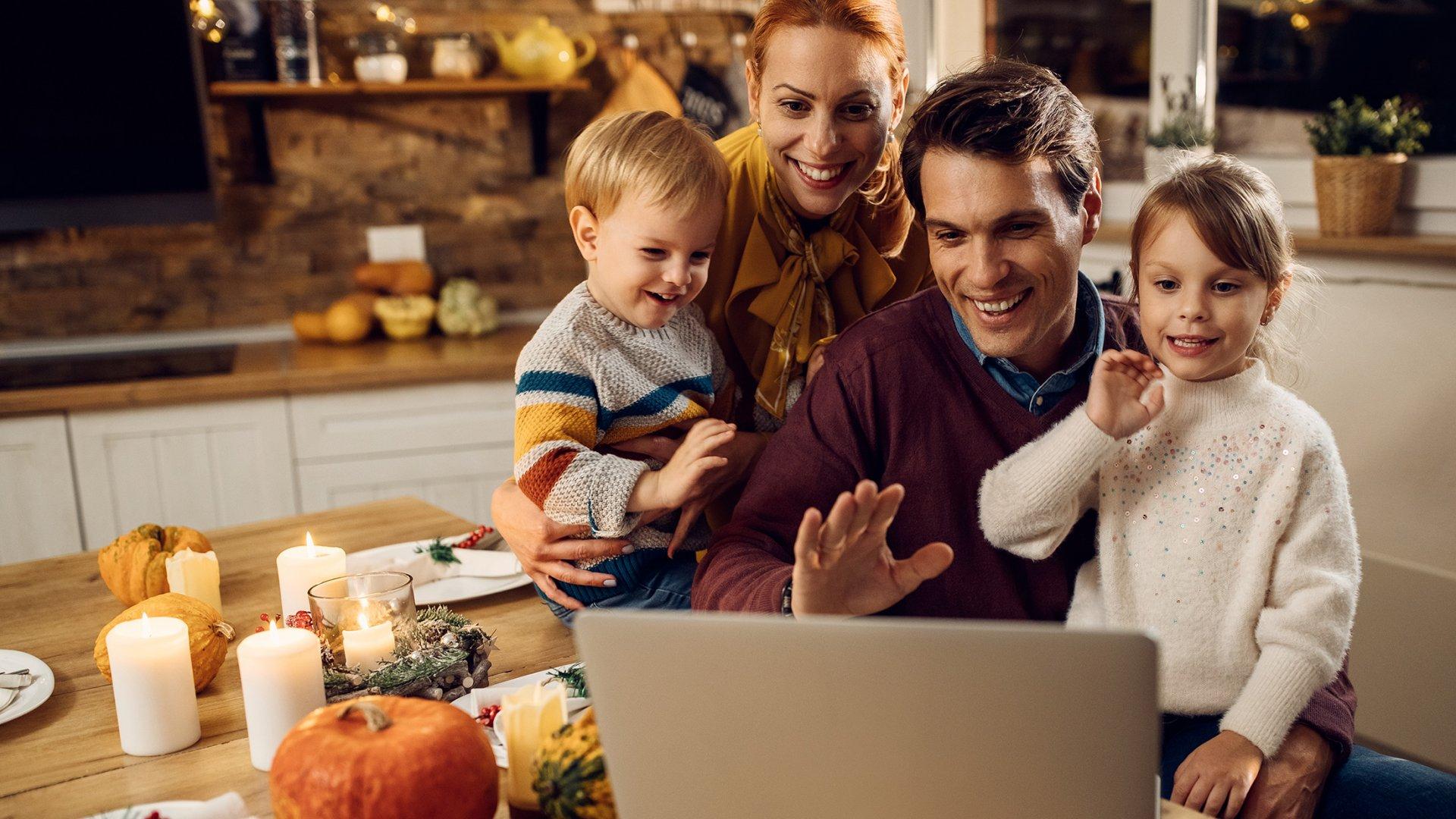 10 Ideas to Make Your Virtual Thanksgiving Actually Feel Festive