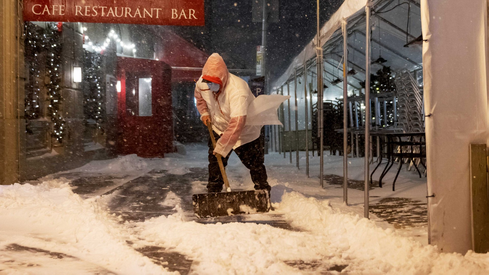 Restaurants' Winter Plan: Anything and Everything to Stay Alive