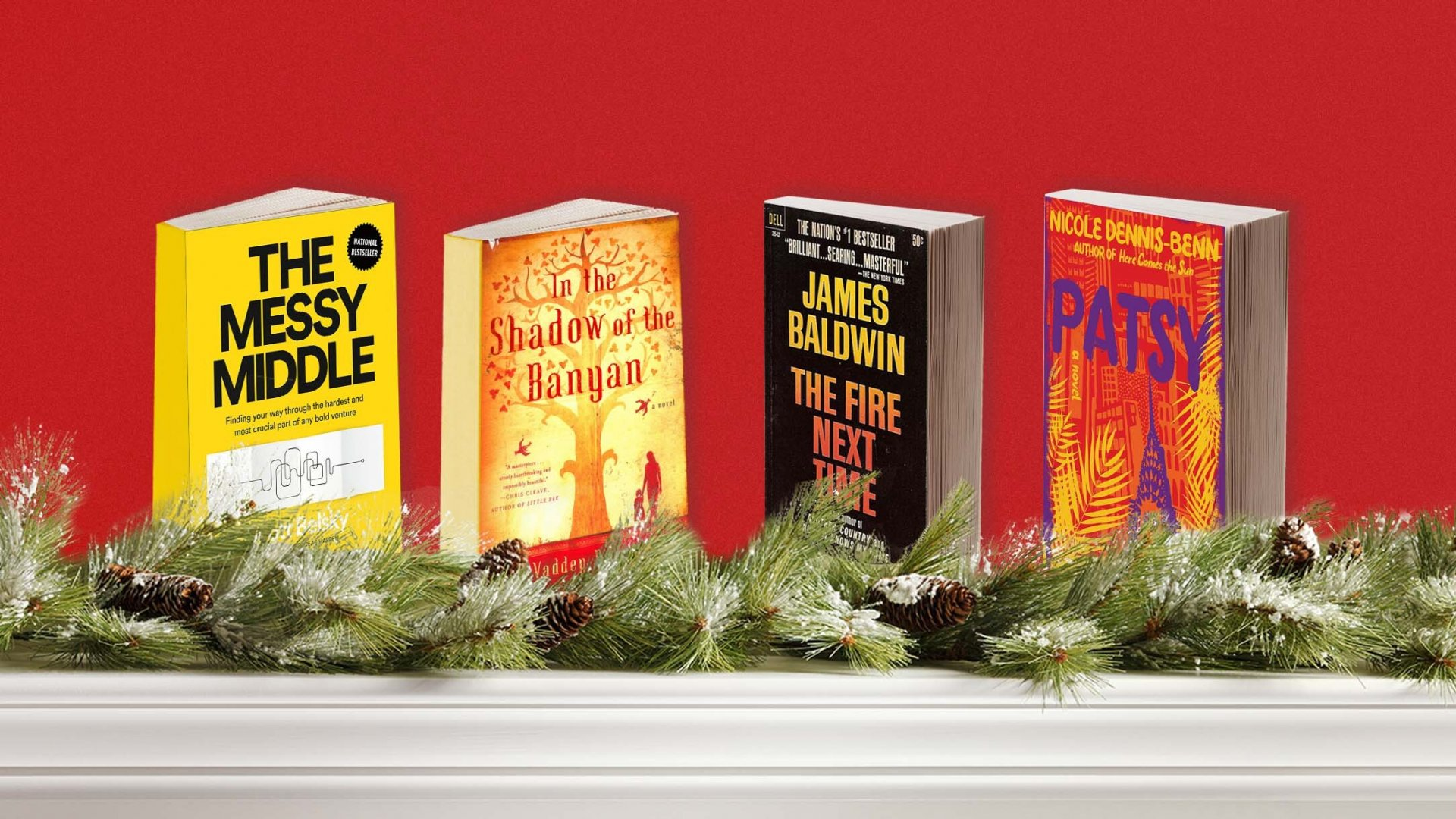 23 Books for Inspiring Holiday Reading, Recommended by TED Speakers