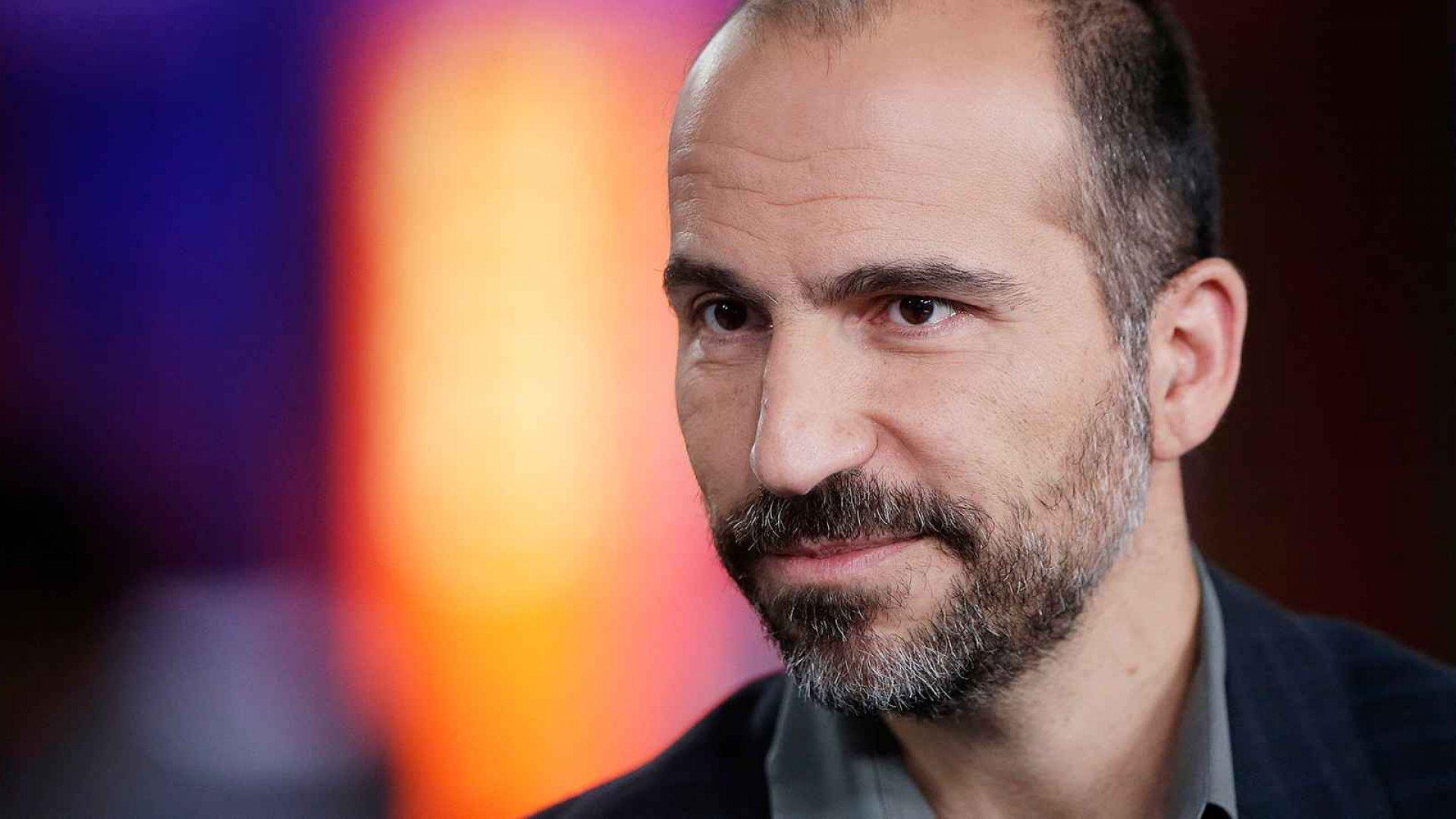 Newly appointed Uber CEO Dara Khosrowshahi.