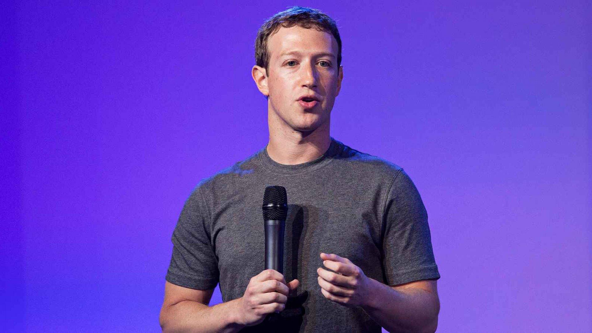 Facebook co-founder and CEO Mark Zuckerberg.